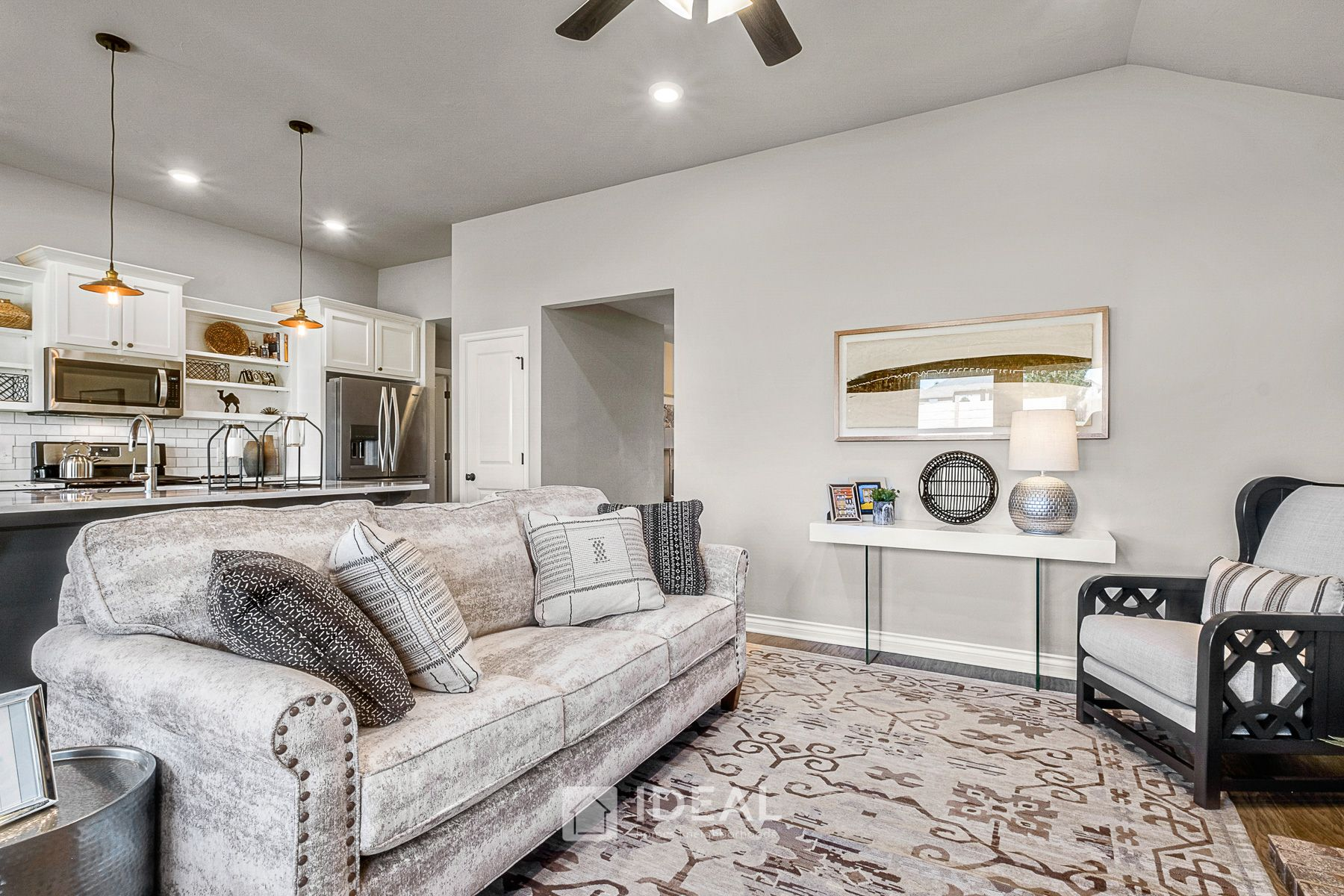 Living Area featured in the Dawson By Ideal Homes in Oklahoma City, OK