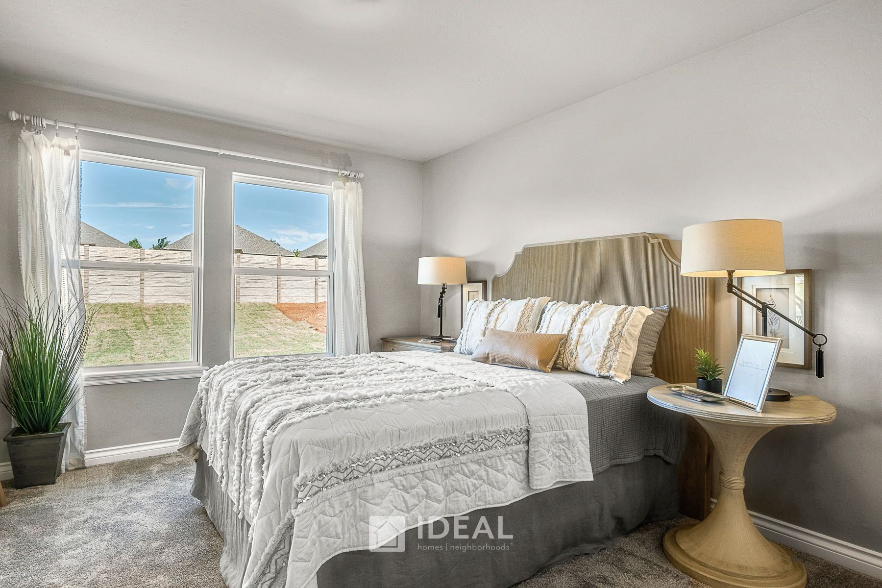 Bedroom featured in the Dawson By Ideal Homes in Oklahoma City, OK