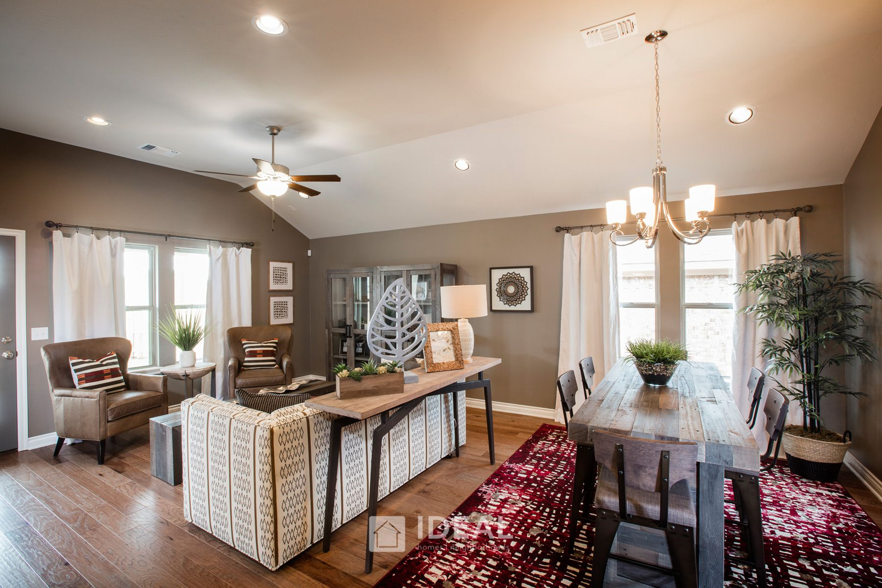 Living Area featured in the Frederickson By Ideal Homes in Oklahoma City, OK