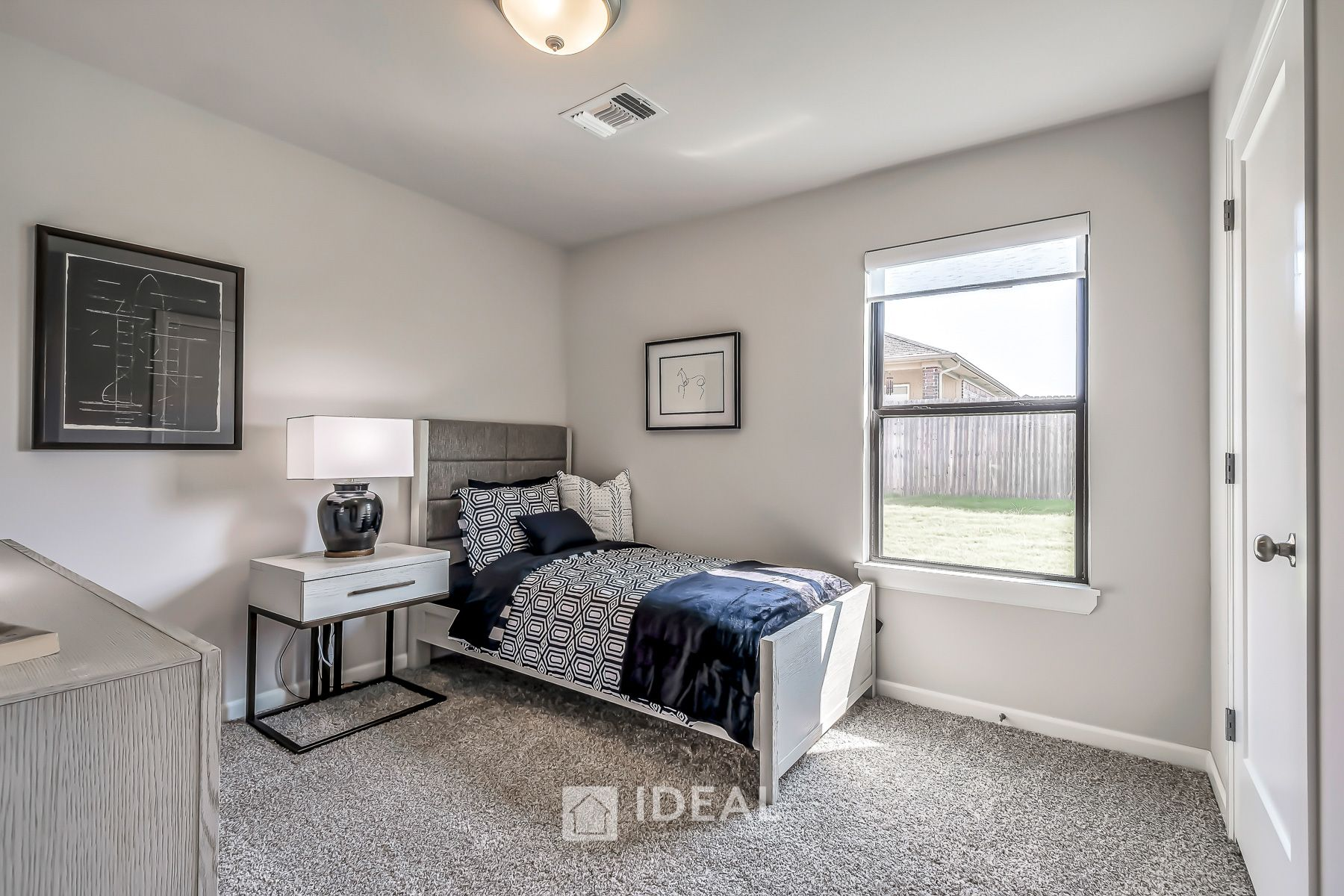 Bedroom featured in the Fitzgerald By Ideal Homes in Oklahoma City, OK
