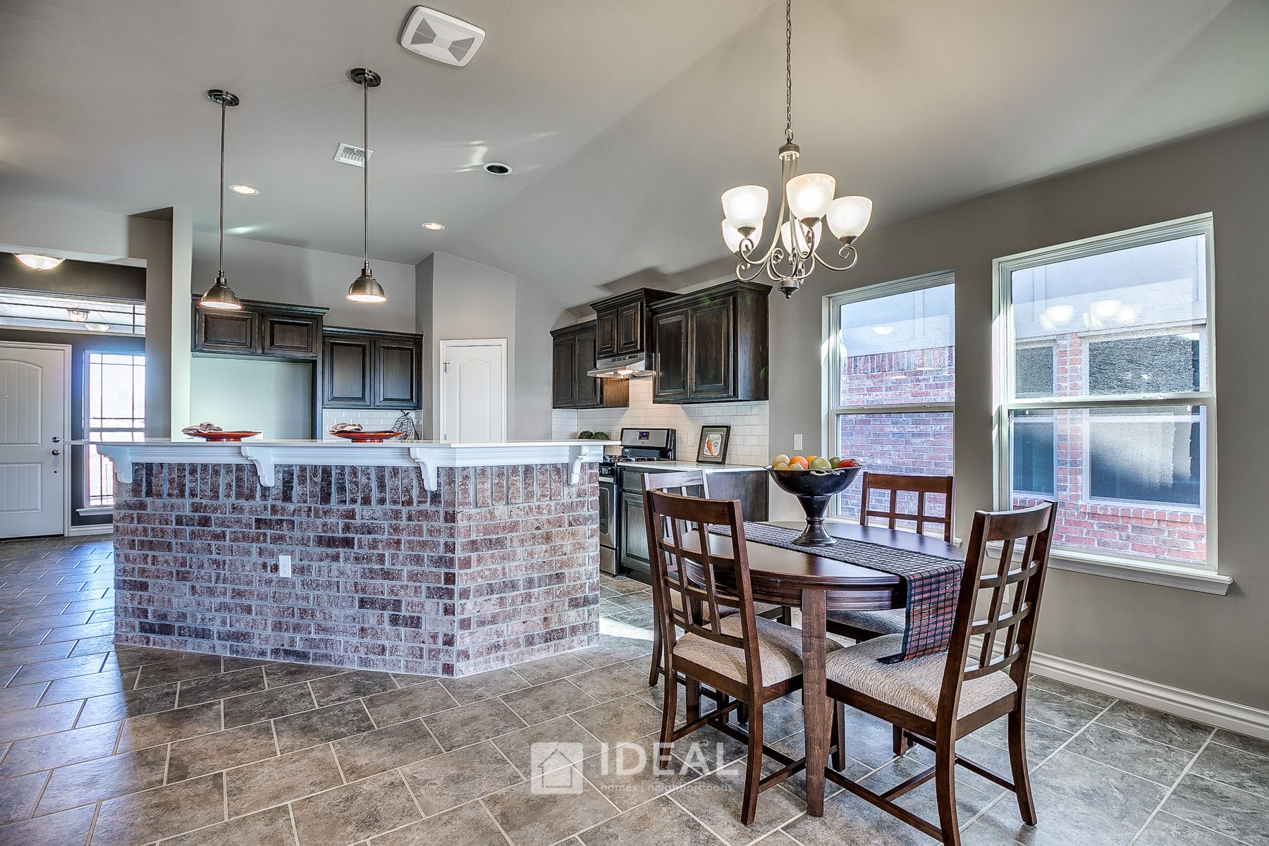Kitchen featured in the Kensington By Ideal Homes in Oklahoma City, OK