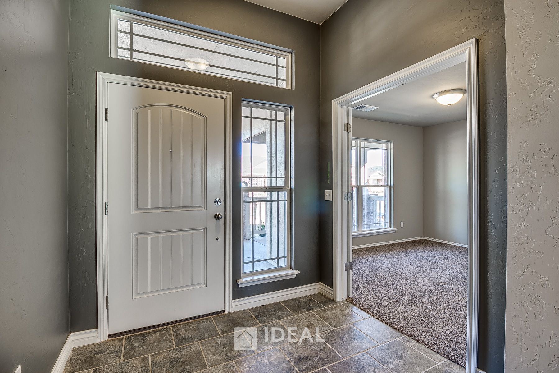 Living Area featured in the Kensington By Ideal Homes in Oklahoma City, OK