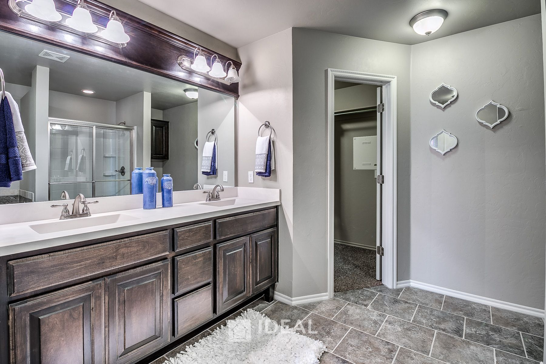 Bathroom featured in the Kensington By Ideal Homes in Oklahoma City, OK
