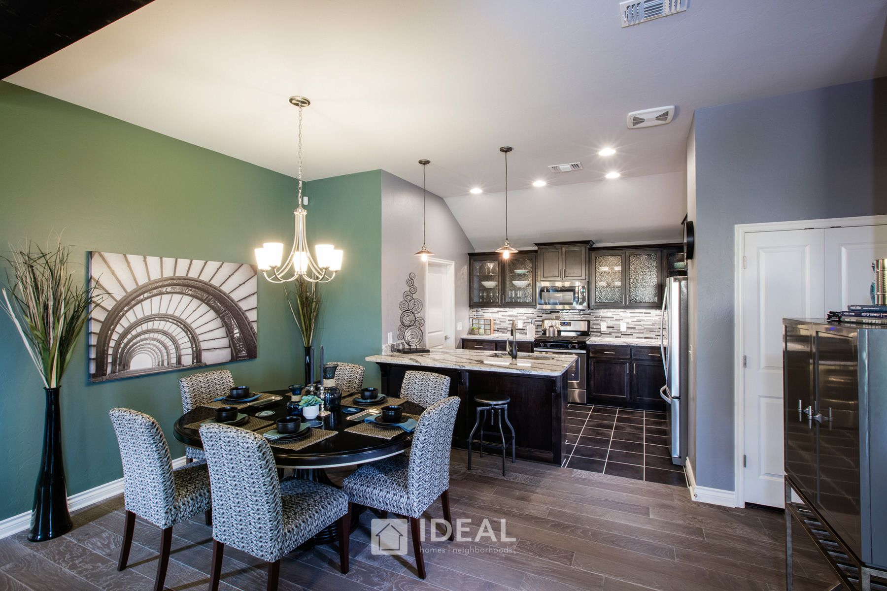 Kitchen featured in the Jefferson By Ideal Homes in Oklahoma City, OK