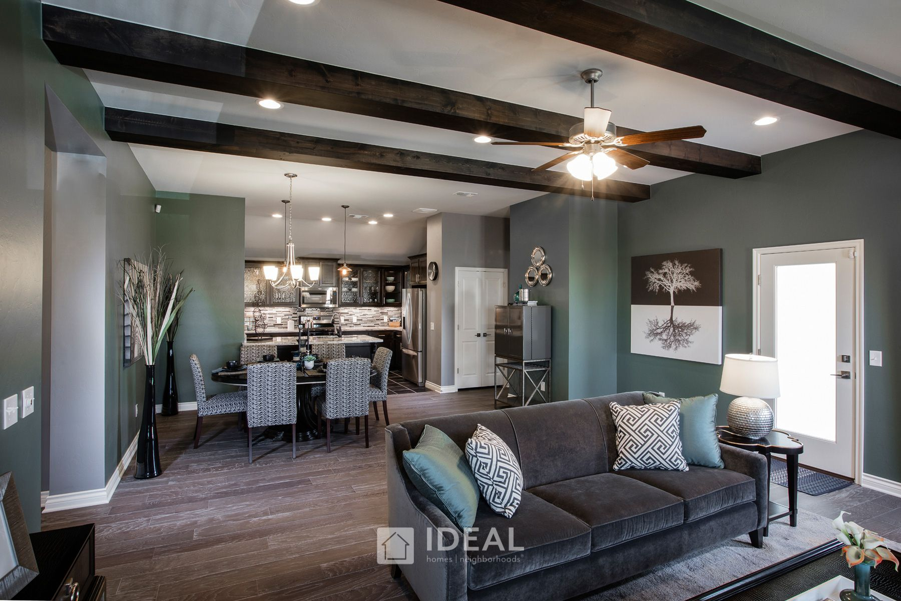 Living Area featured in the Jefferson By Ideal Homes in Oklahoma City, OK