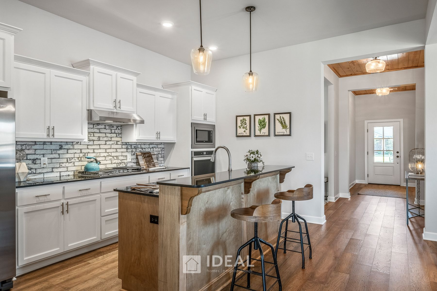 Kitchen featured in the Murphy By Ideal Homes in Oklahoma City, OK