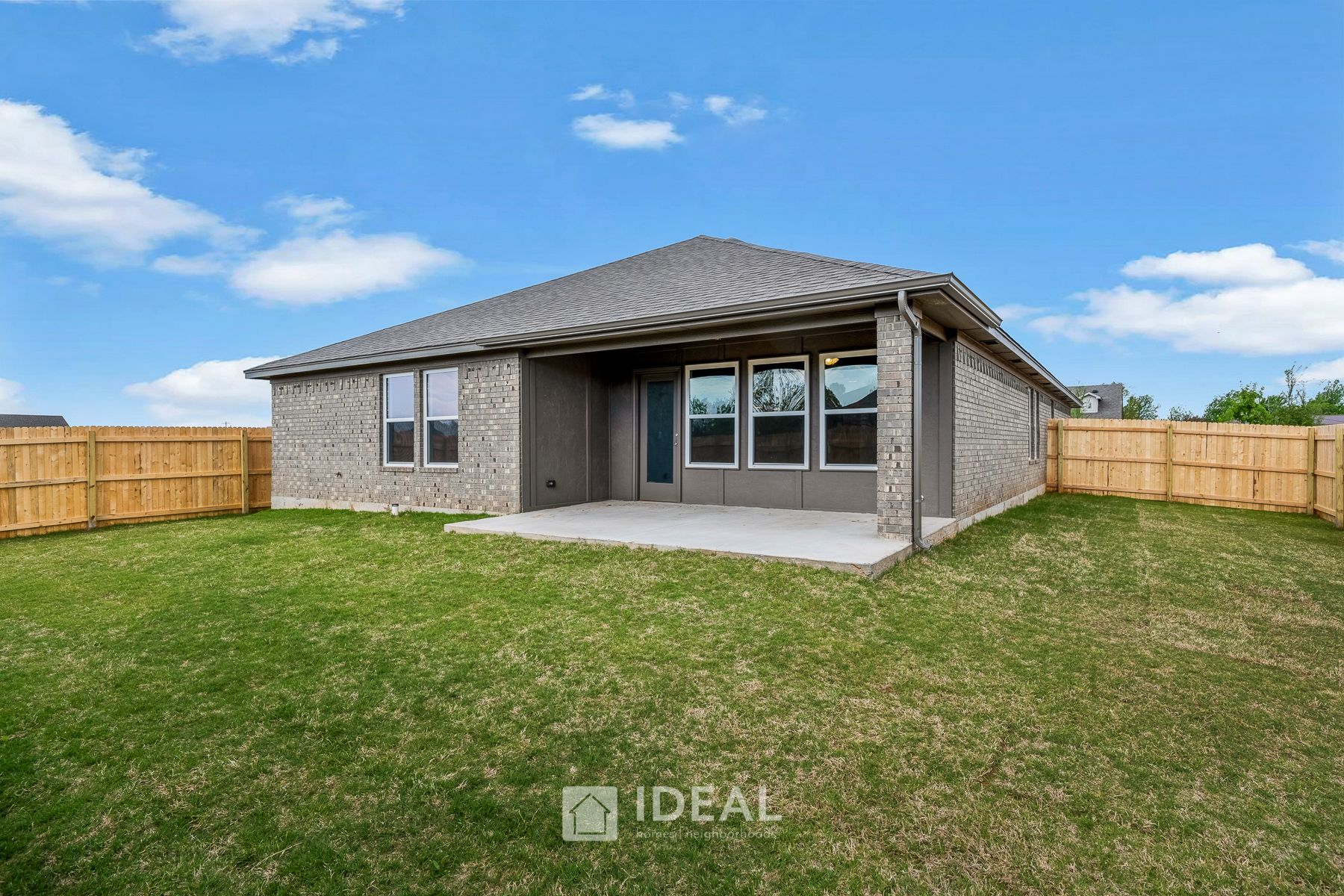 Exterior featured in the Murphy By Ideal Homes in Oklahoma City, OK