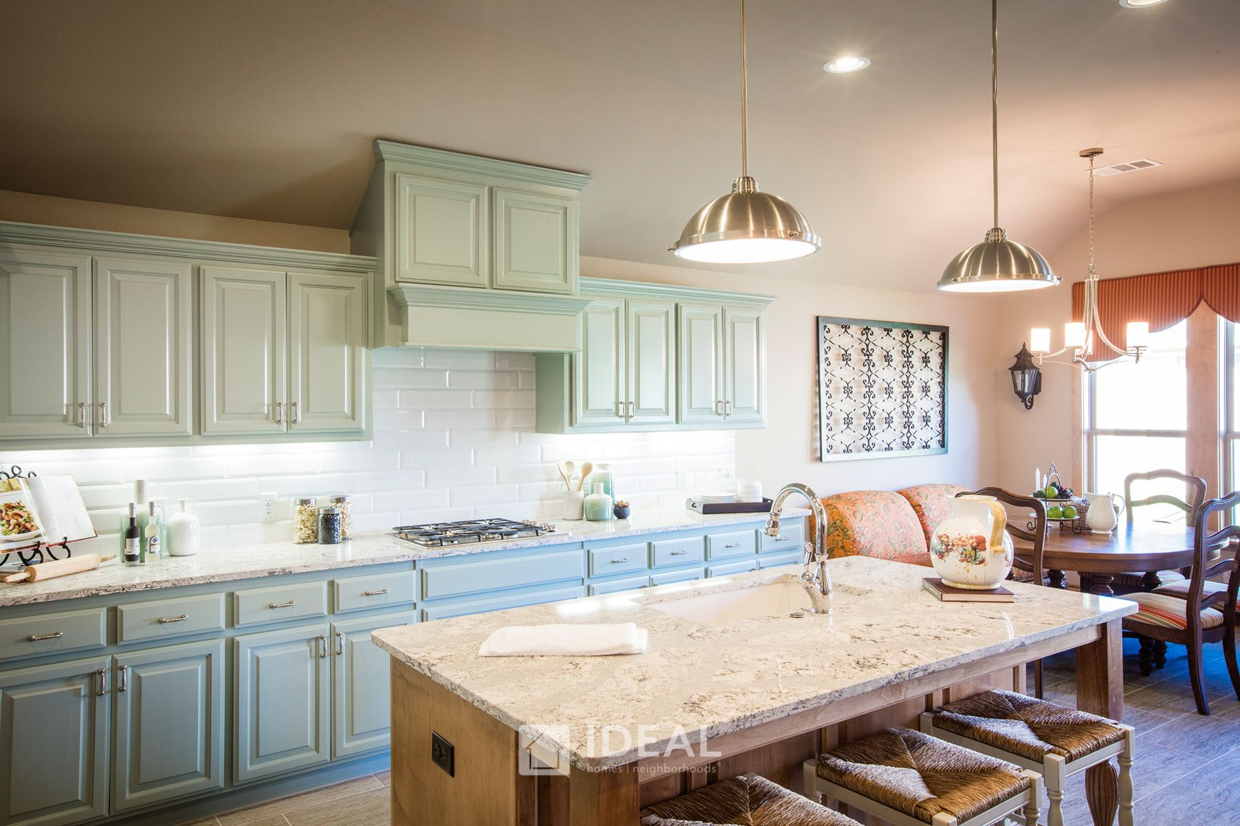 Kitchen featured in the Kendall By Ideal Homes in Oklahoma City, OK