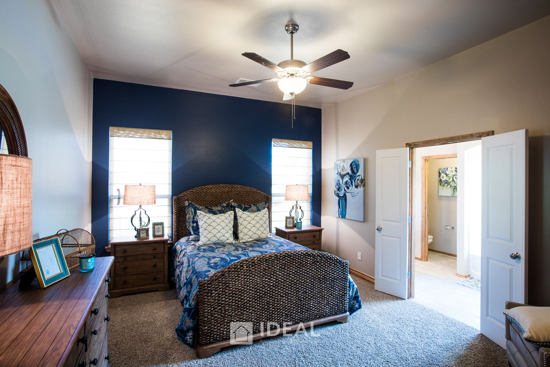 Bedroom featured in the Kendall By Ideal Homes in Oklahoma City, OK