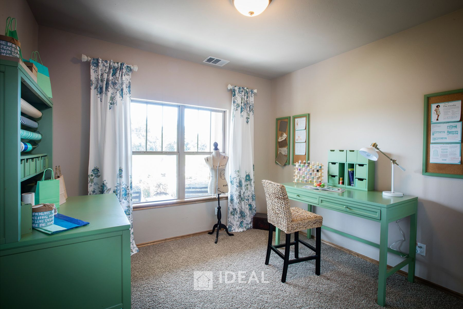 Living Area featured in the Kendall By Ideal Homes in Oklahoma City, OK