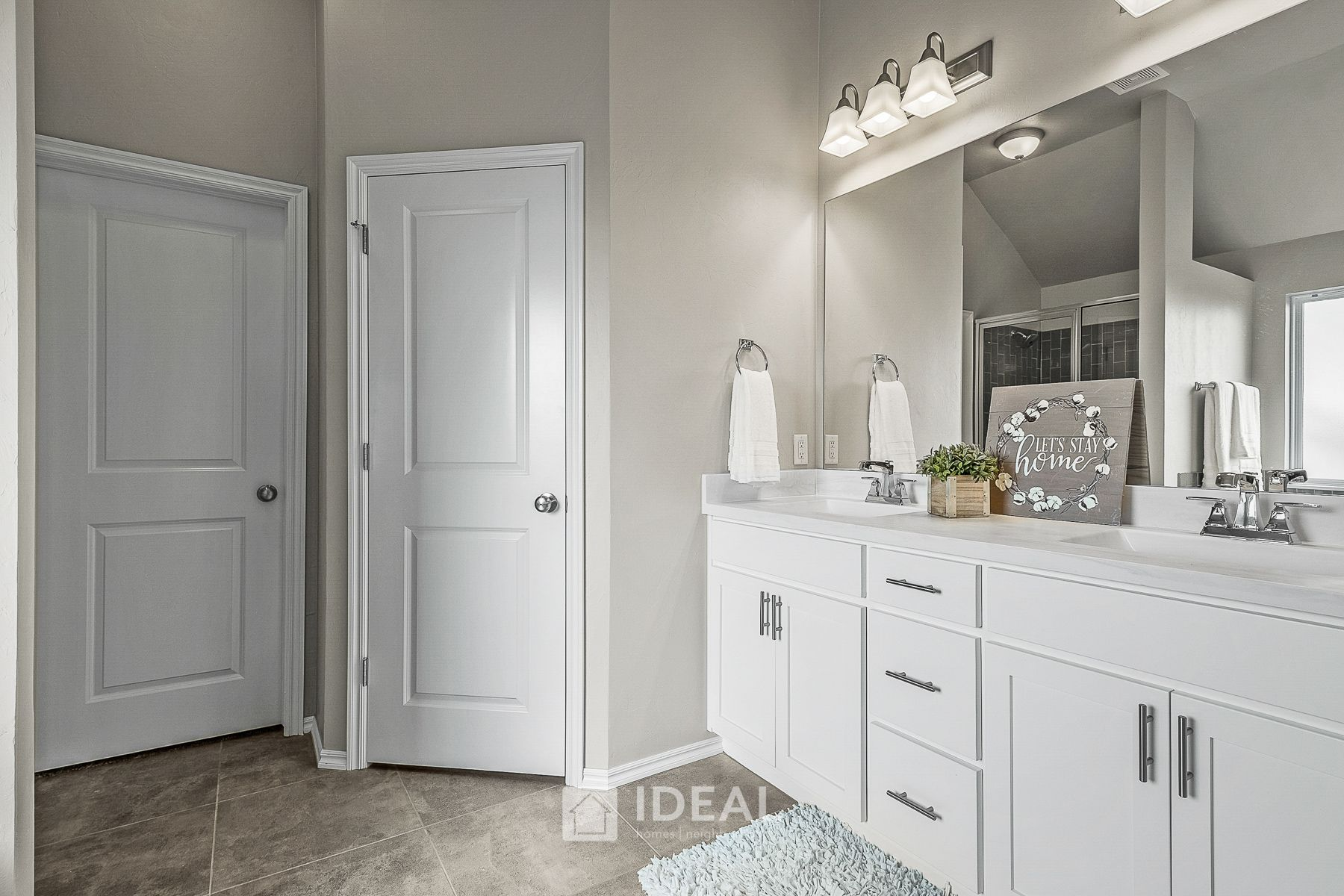 Bathroom featured in the Jacobson Modern By Ideal Homes in Oklahoma City, OK
