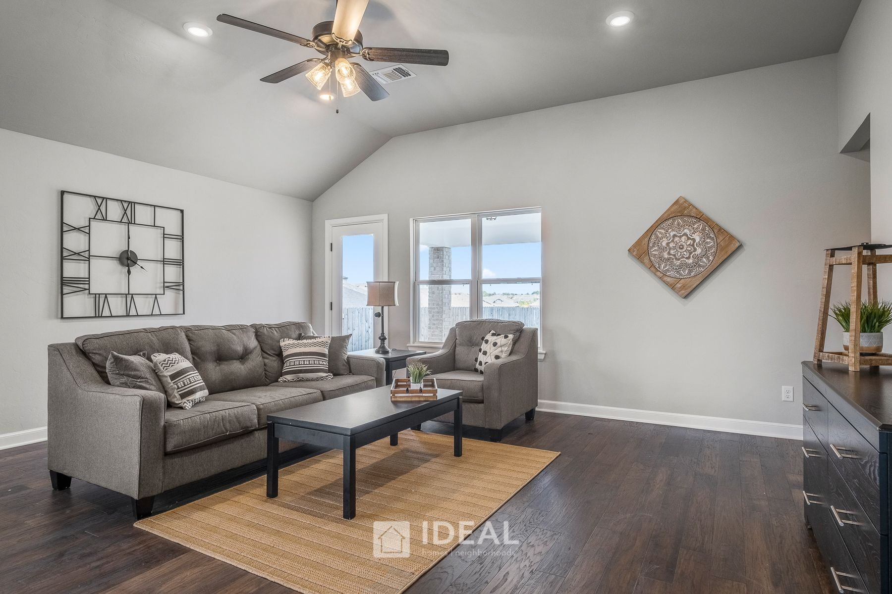 Living Area featured in the Holloway By Ideal Homes in Oklahoma City, OK