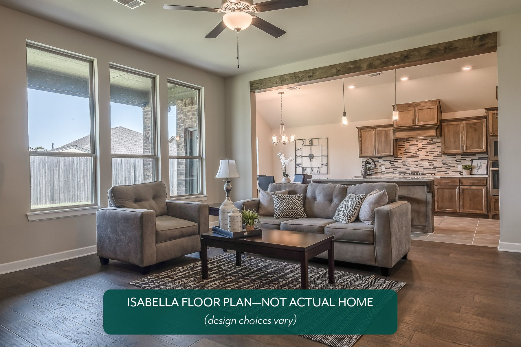 Living Area featured in the Isabella By Ideal Homes in Oklahoma City, OK