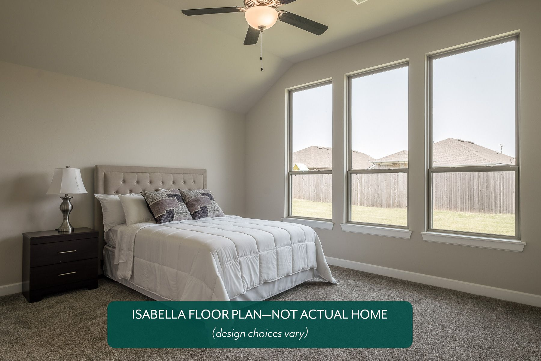 Bedroom featured in the Isabella By Ideal Homes in Oklahoma City, OK