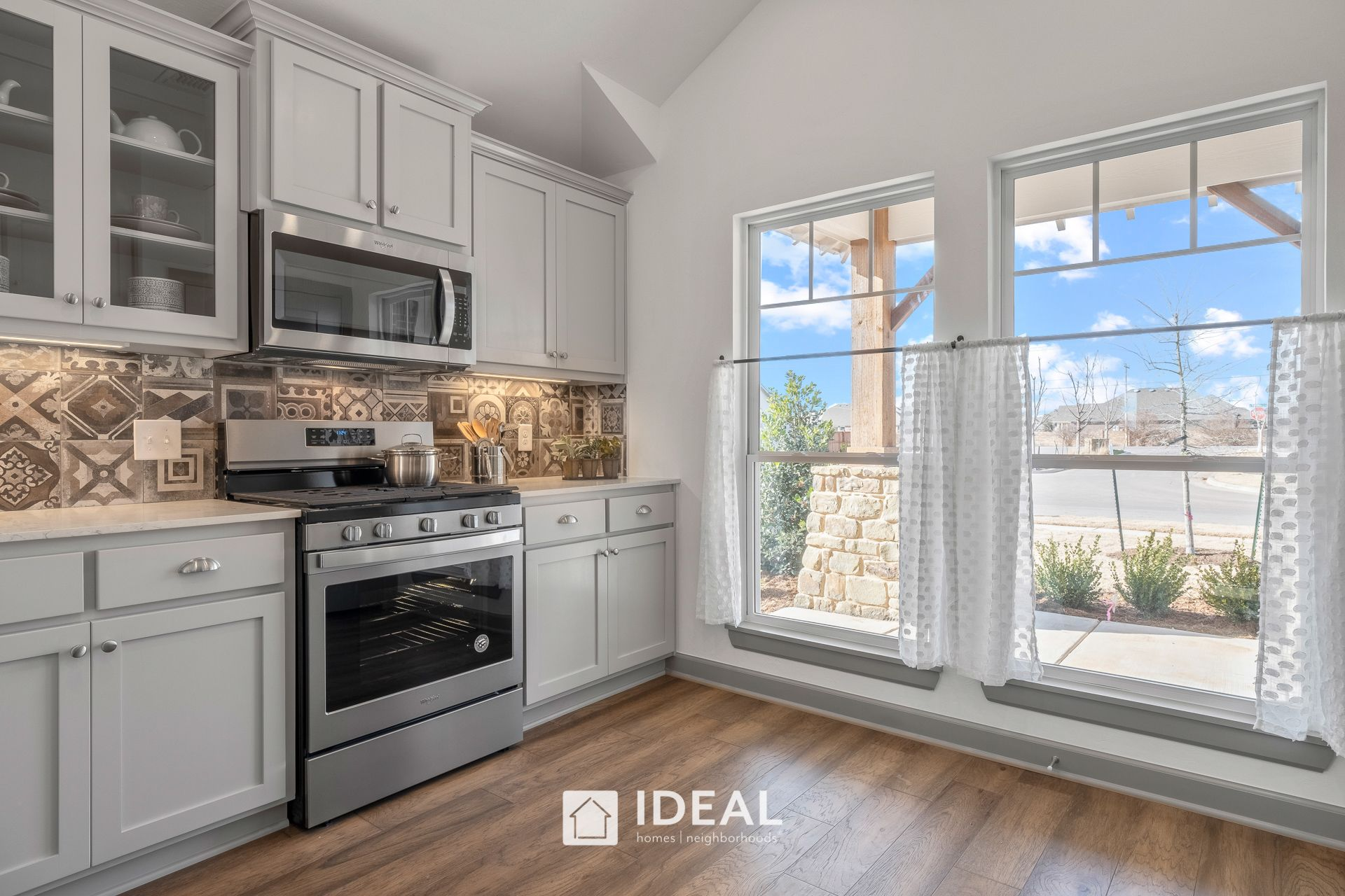 Kitchen featured in the Holloway By Ideal Homes in Oklahoma City, OK