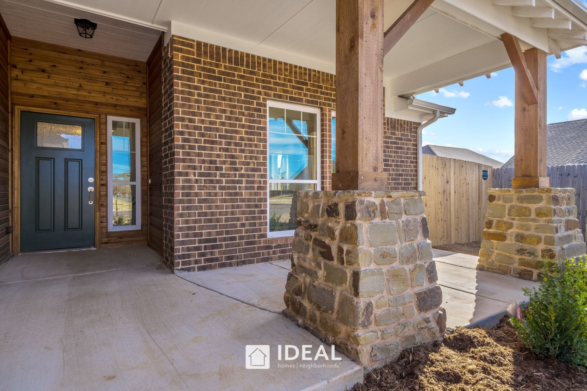 Exterior featured in the Holloway By Ideal Homes in Oklahoma City, OK