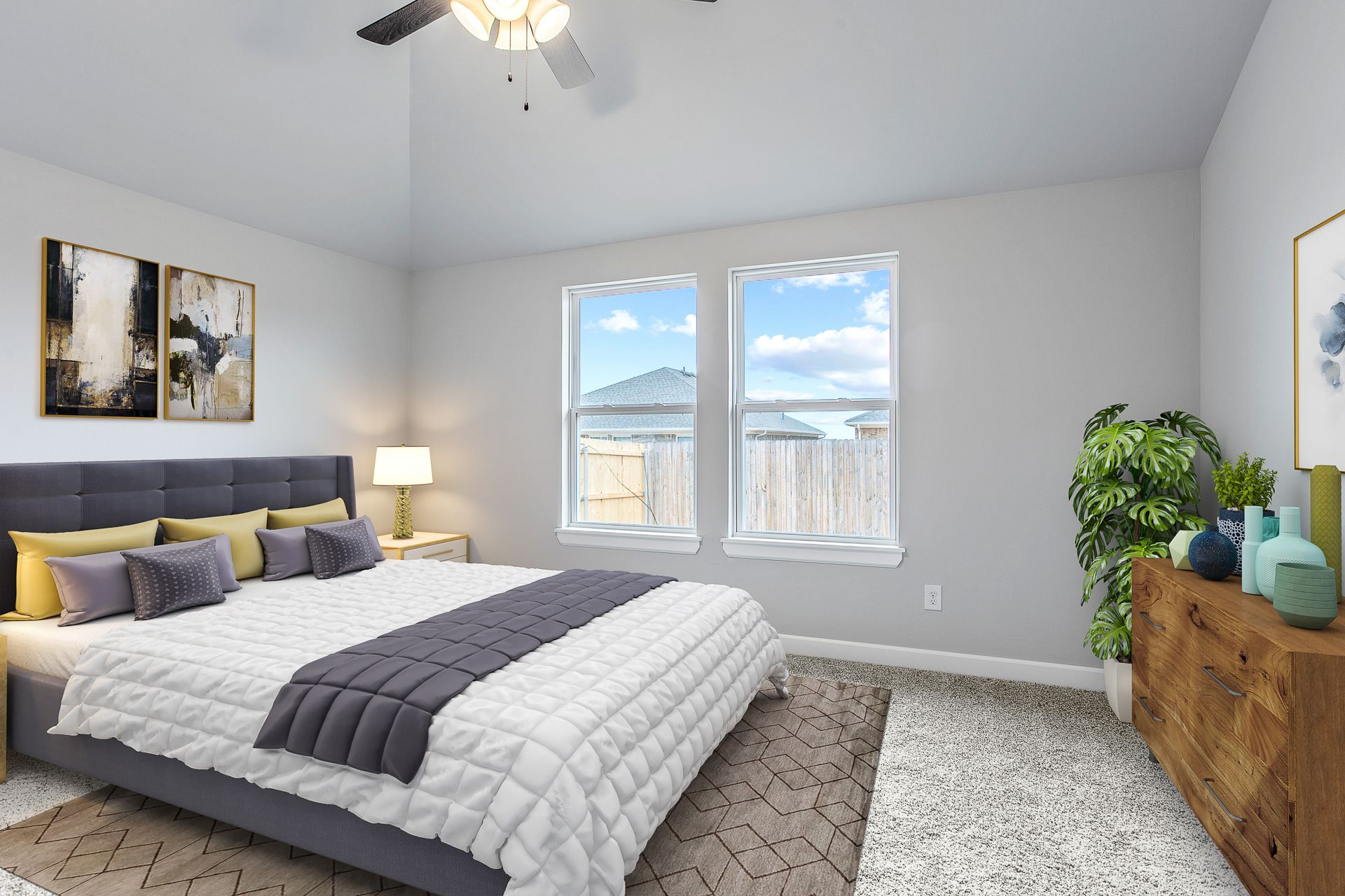 Bedroom featured in the Forrester By Ideal Homes in Oklahoma City, OK