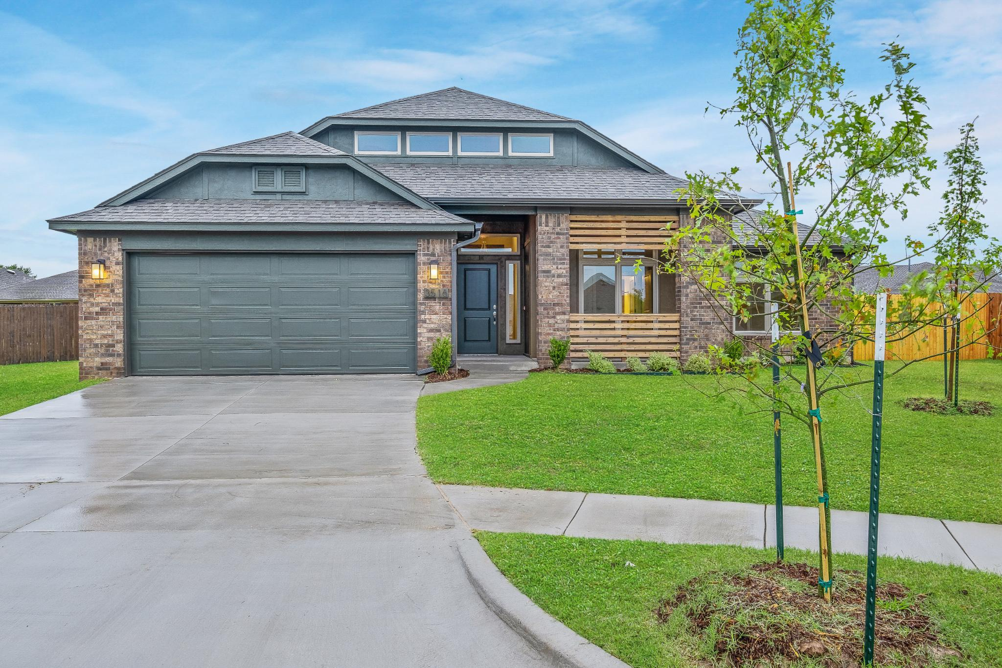 Exterior featured in the Isabella By Ideal Homes in Oklahoma City, OK