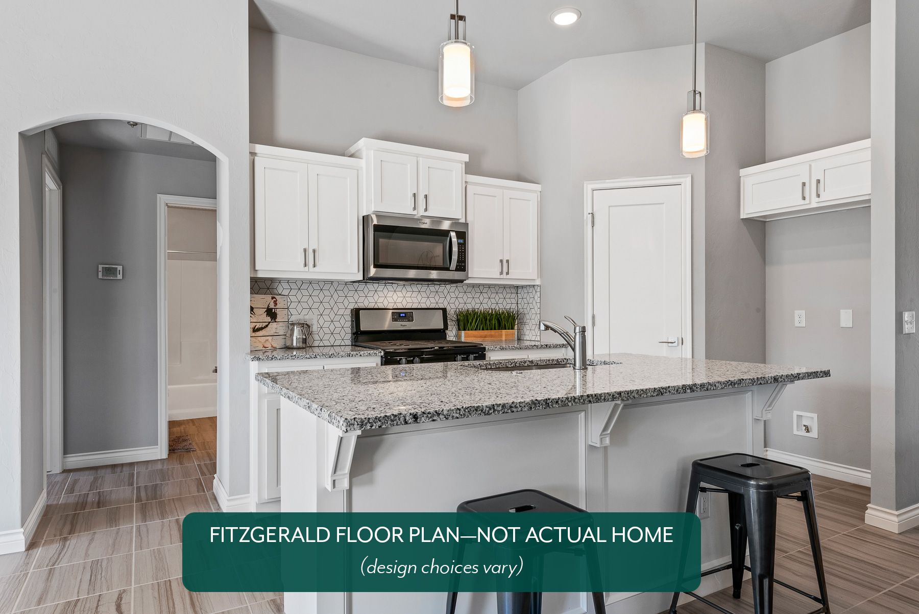Kitchen featured in the Fitzgerald By Ideal Homes in Oklahoma City, OK