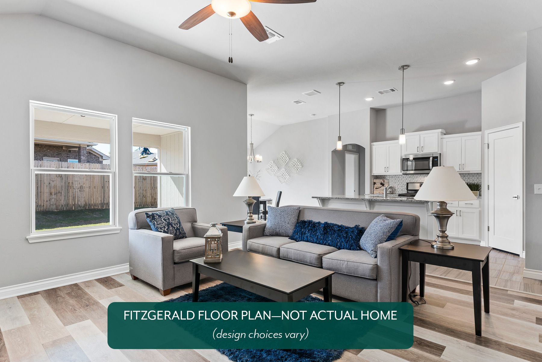 Living Area featured in the Fitzgerald By Ideal Homes in Oklahoma City, OK