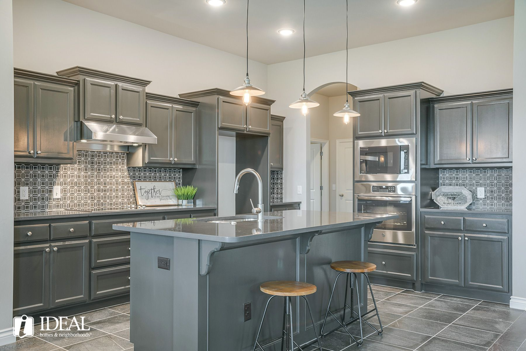Kitchen featured in the Marietta By Ideal Homes in Oklahoma City, OK