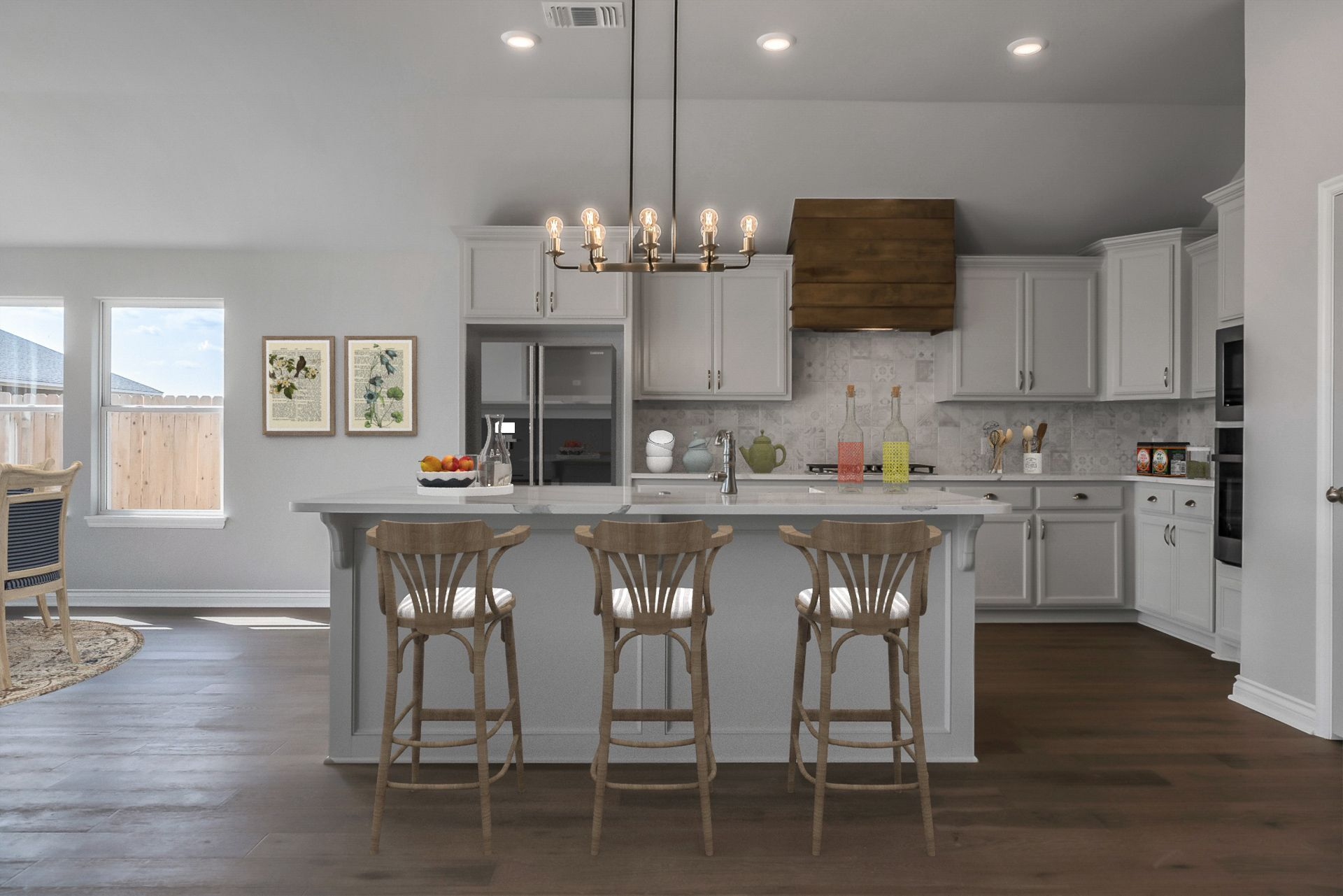 Kitchen featured in the Pendleton By Ideal Homes in Oklahoma City, OK