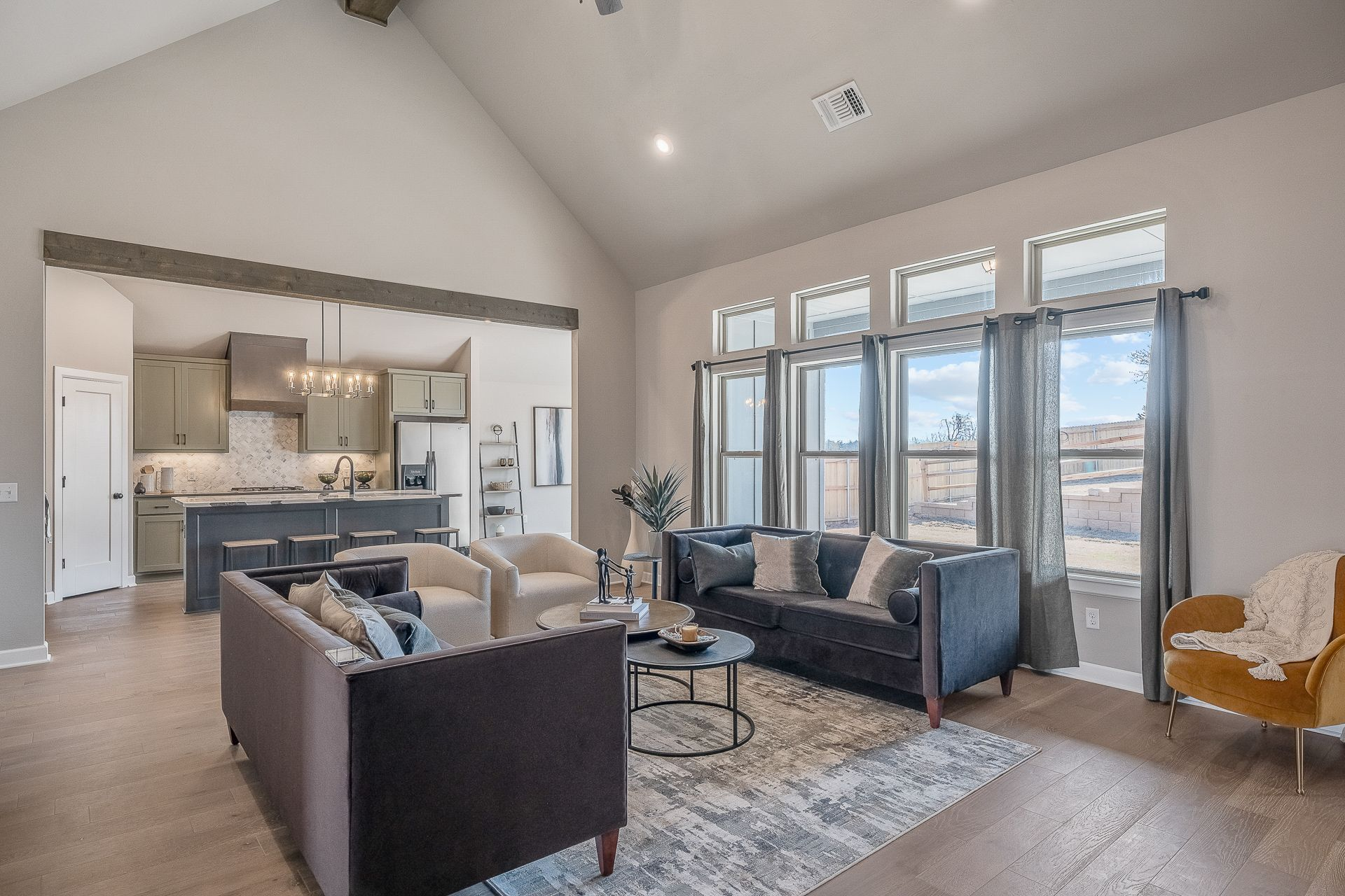 Living Area featured in the Jacobson By Ideal Homes in Oklahoma City, OK