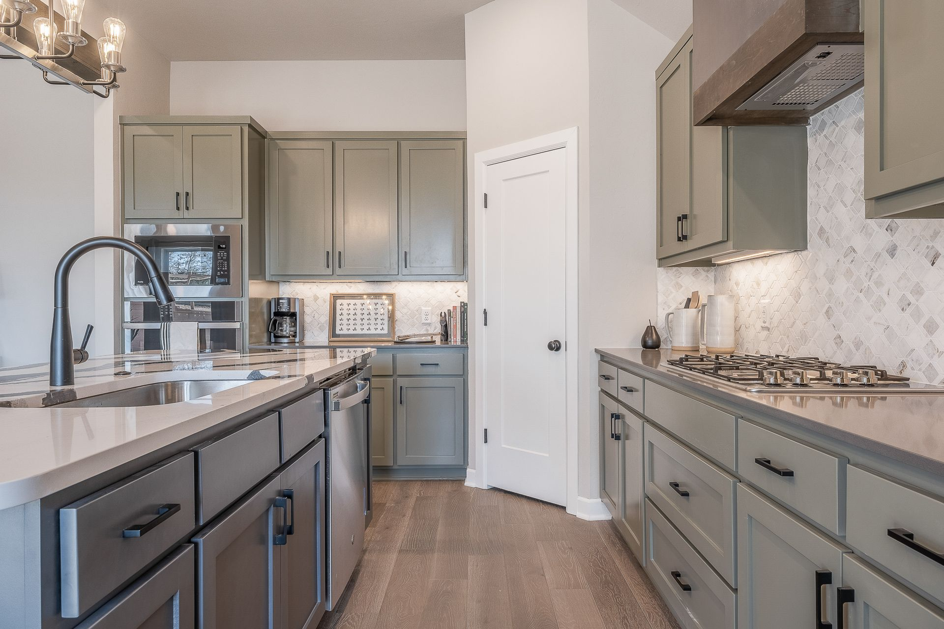 Kitchen featured in the Jacobson By Ideal Homes in Oklahoma City, OK