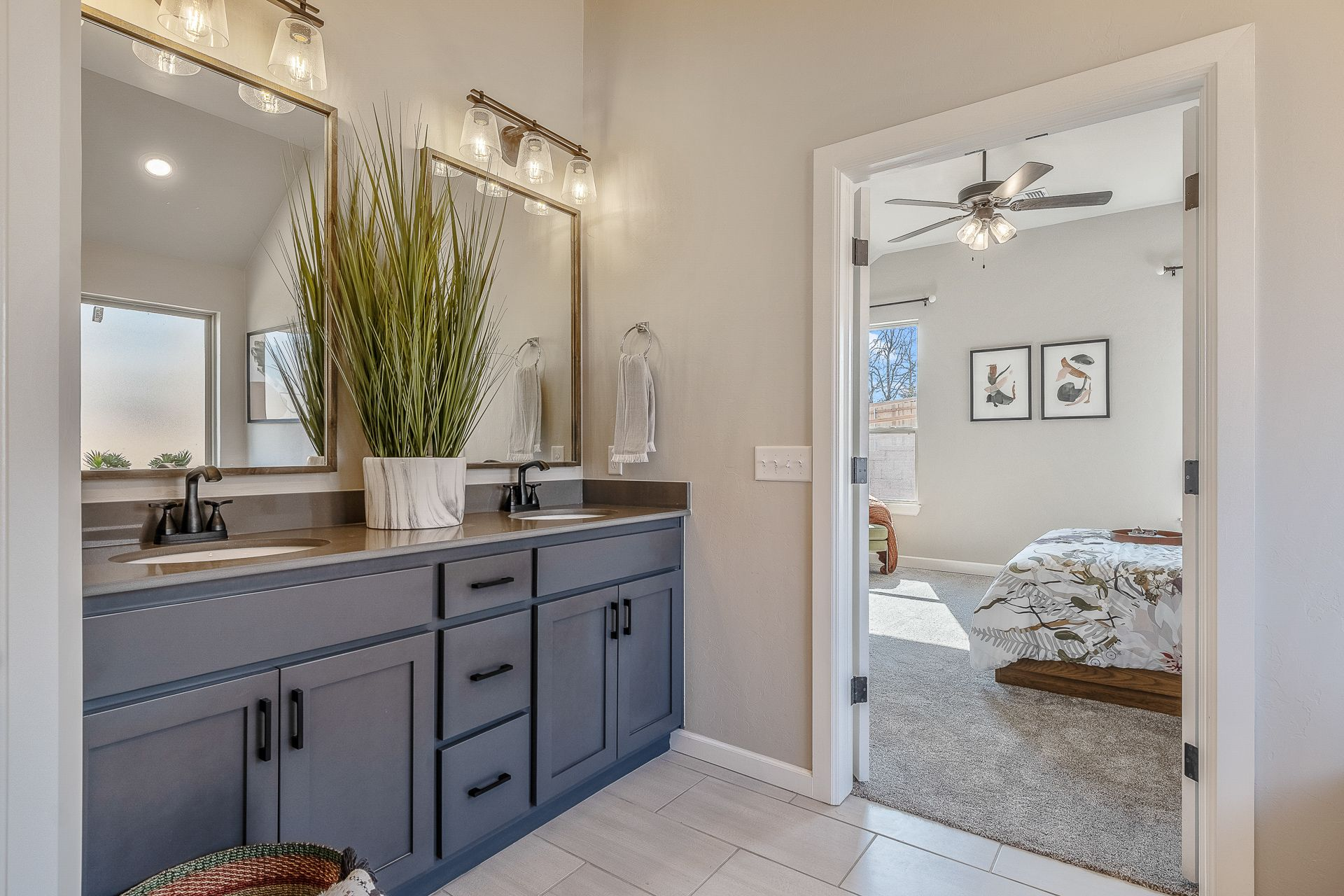 Bathroom featured in the Jacobson By Ideal Homes in Oklahoma City, OK