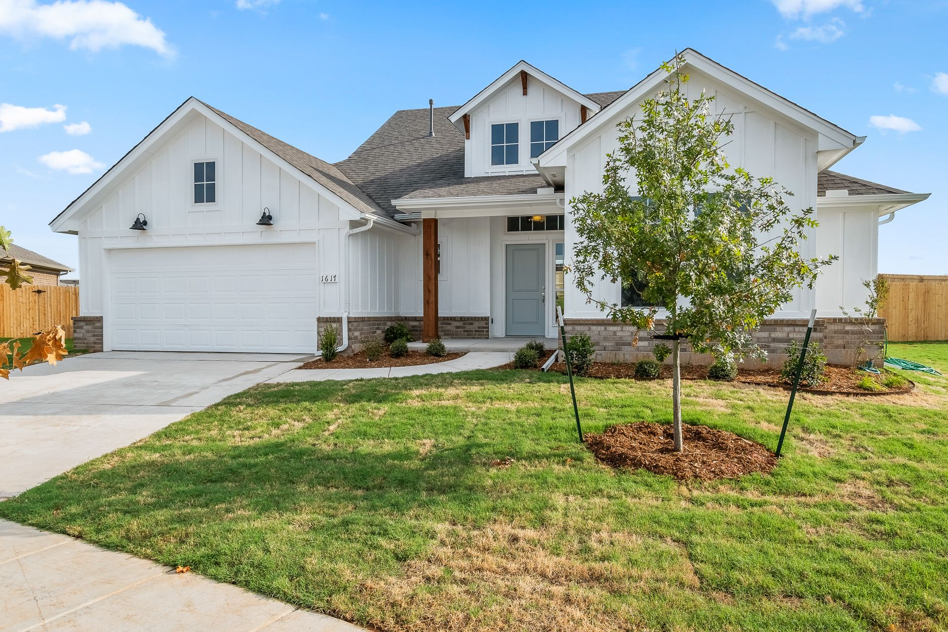 Exterior featured in the Jacobson By Ideal Homes in Oklahoma City, OK
