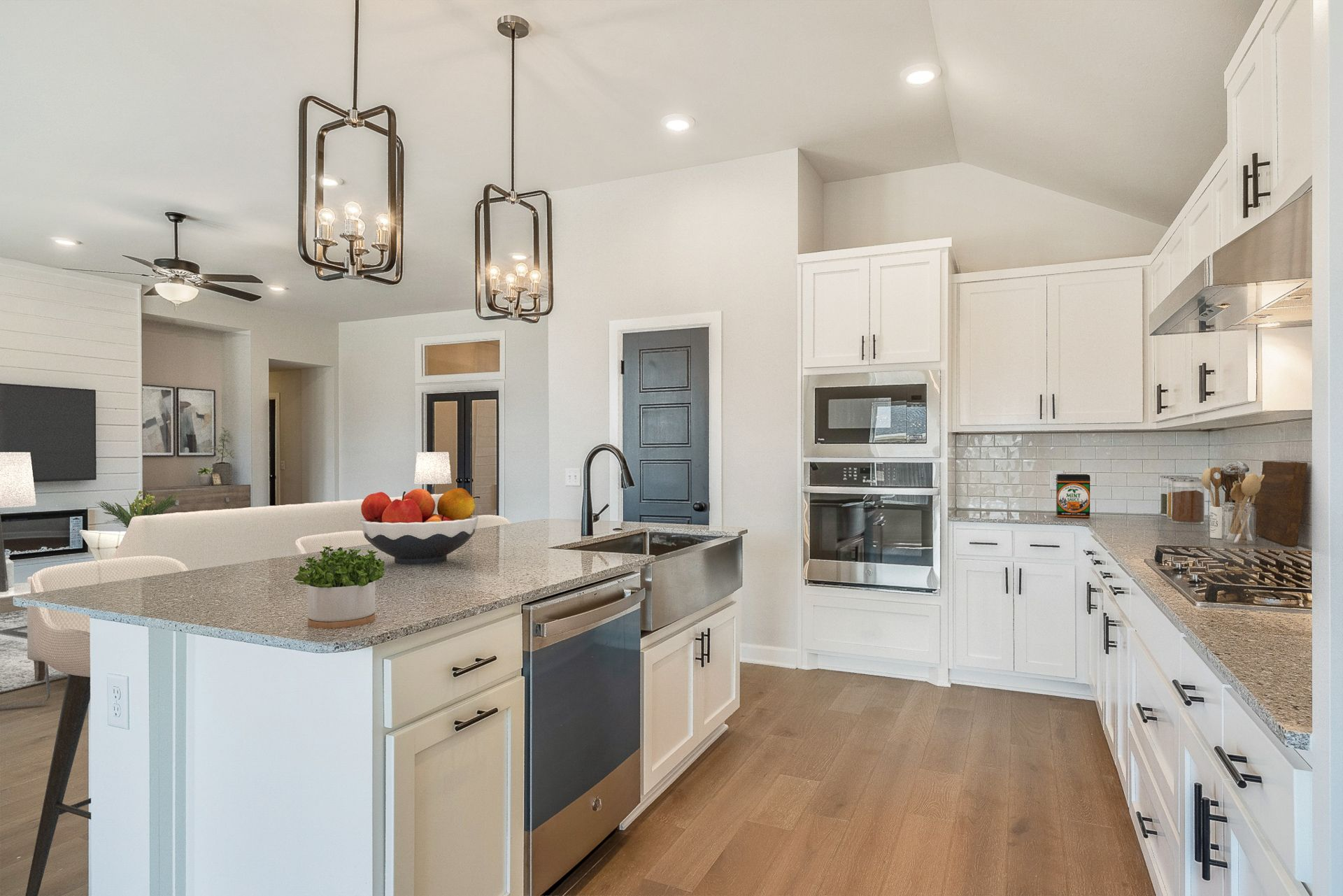 Kitchen featured in the Montgomery By Ideal Homes in Oklahoma City, OK