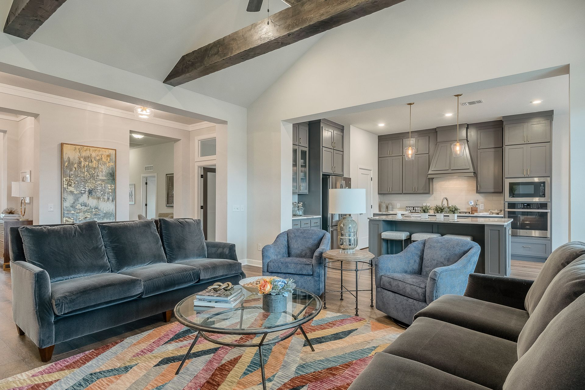Living Area featured in the Orwell By Ideal Homes in Oklahoma City, OK