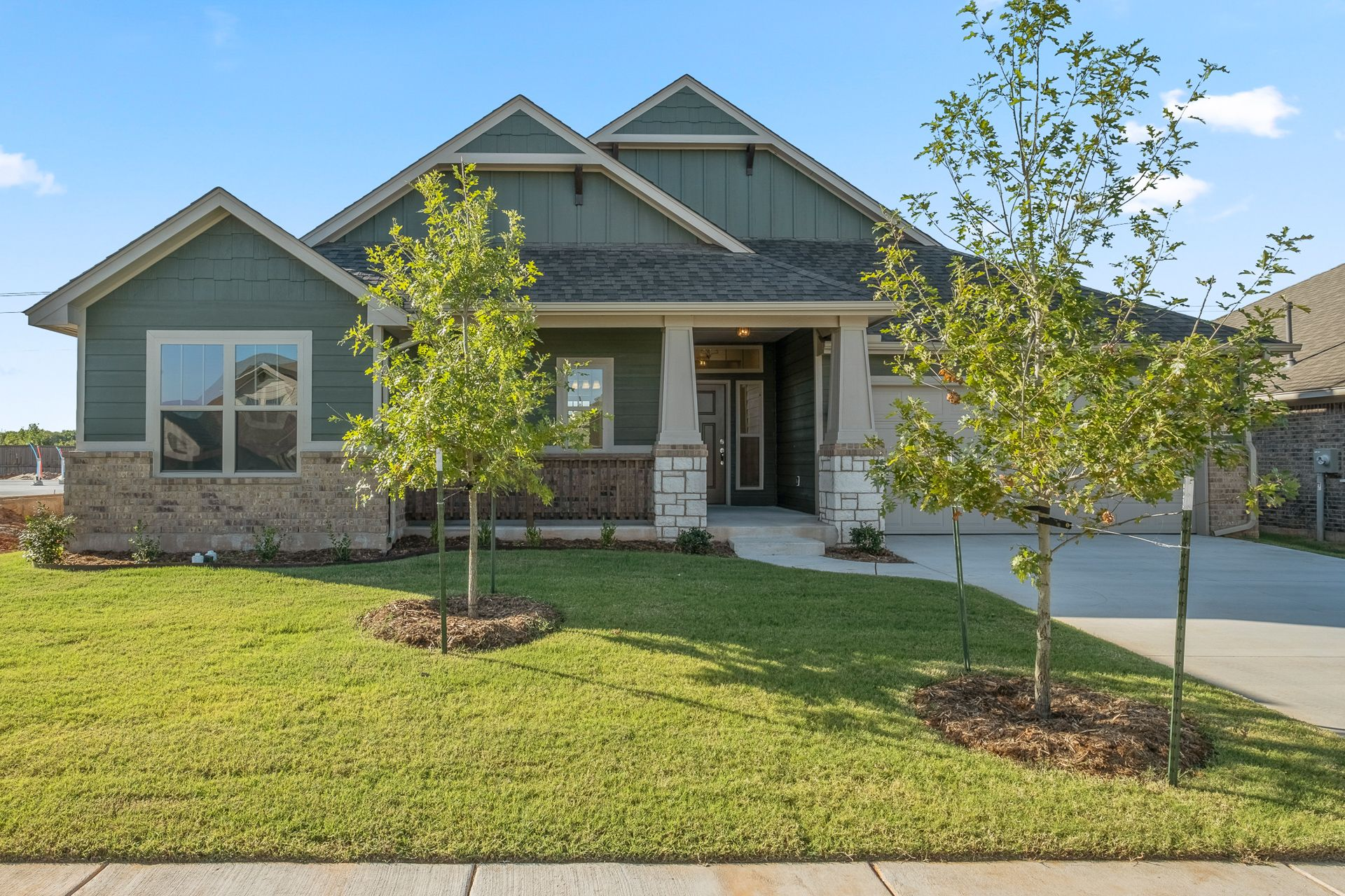 Exterior featured in the Orwell By Ideal Homes in Oklahoma City, OK