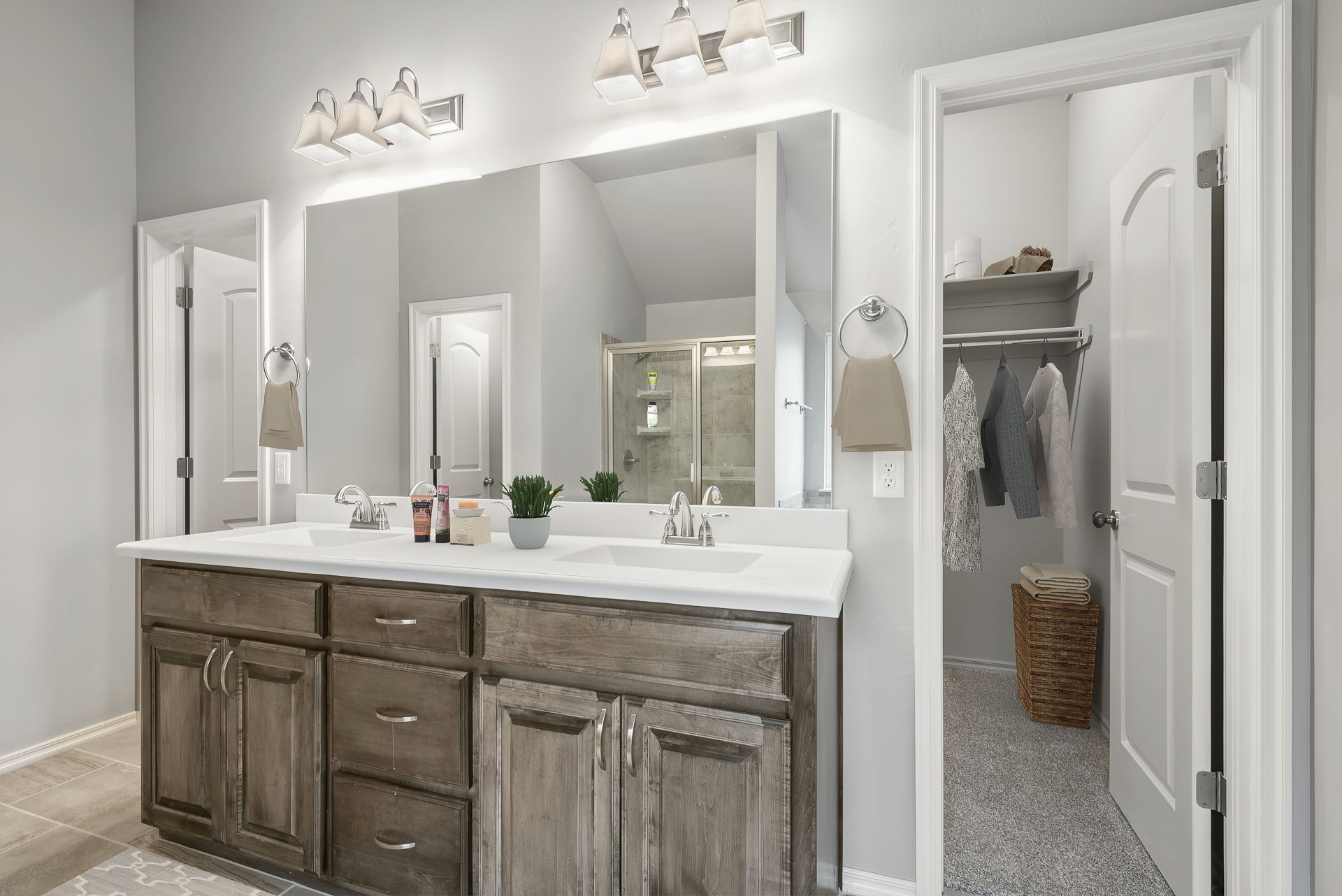 Bathroom featured in the Langley 3-Car By Ideal Homes in Oklahoma City, OK