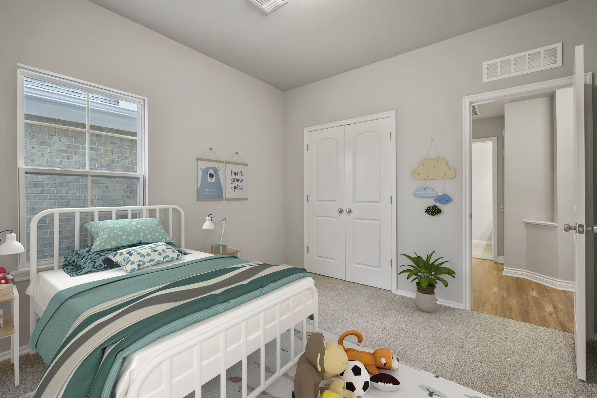 Bedroom featured in the Langley 3-Car By Ideal Homes in Oklahoma City, OK