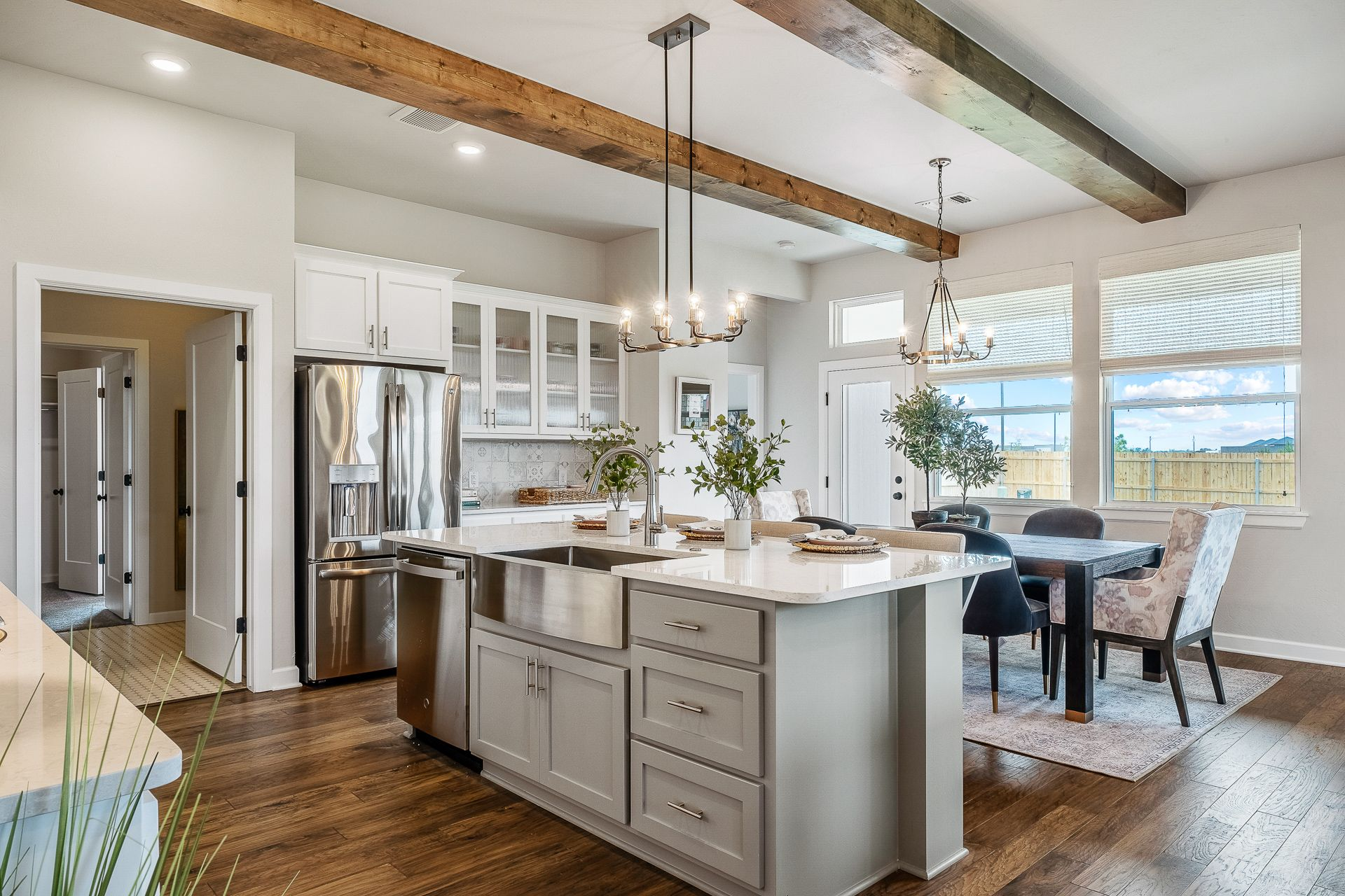Kitchen featured in the Nottingham By Ideal Homes in Oklahoma City, OK