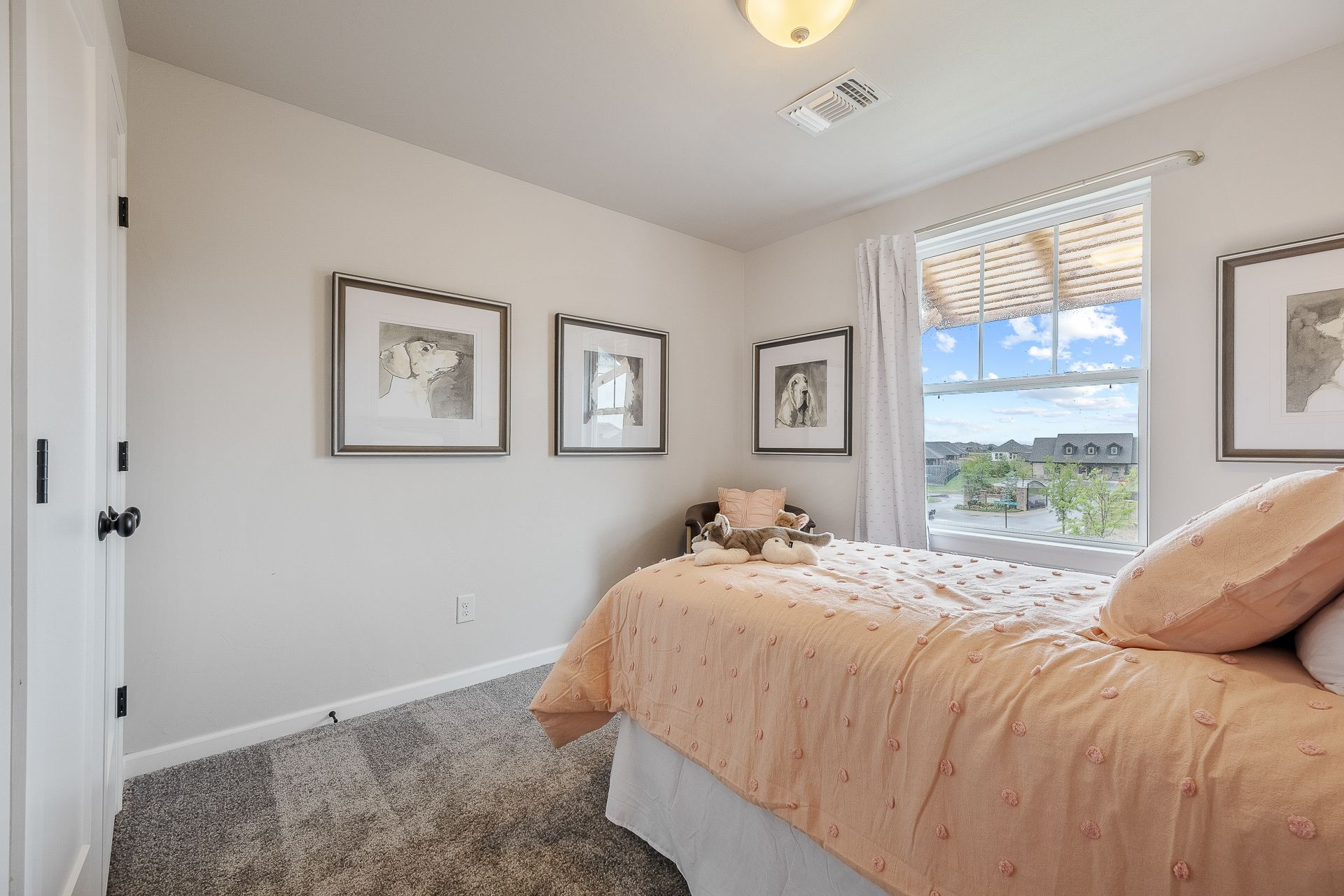 Bedroom featured in the Nottingham By Ideal Homes in Oklahoma City, OK