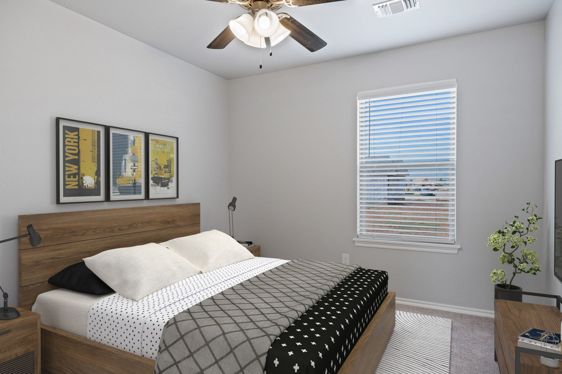 Bedroom featured in the Gabriella By Ideal Homes in Oklahoma City, OK