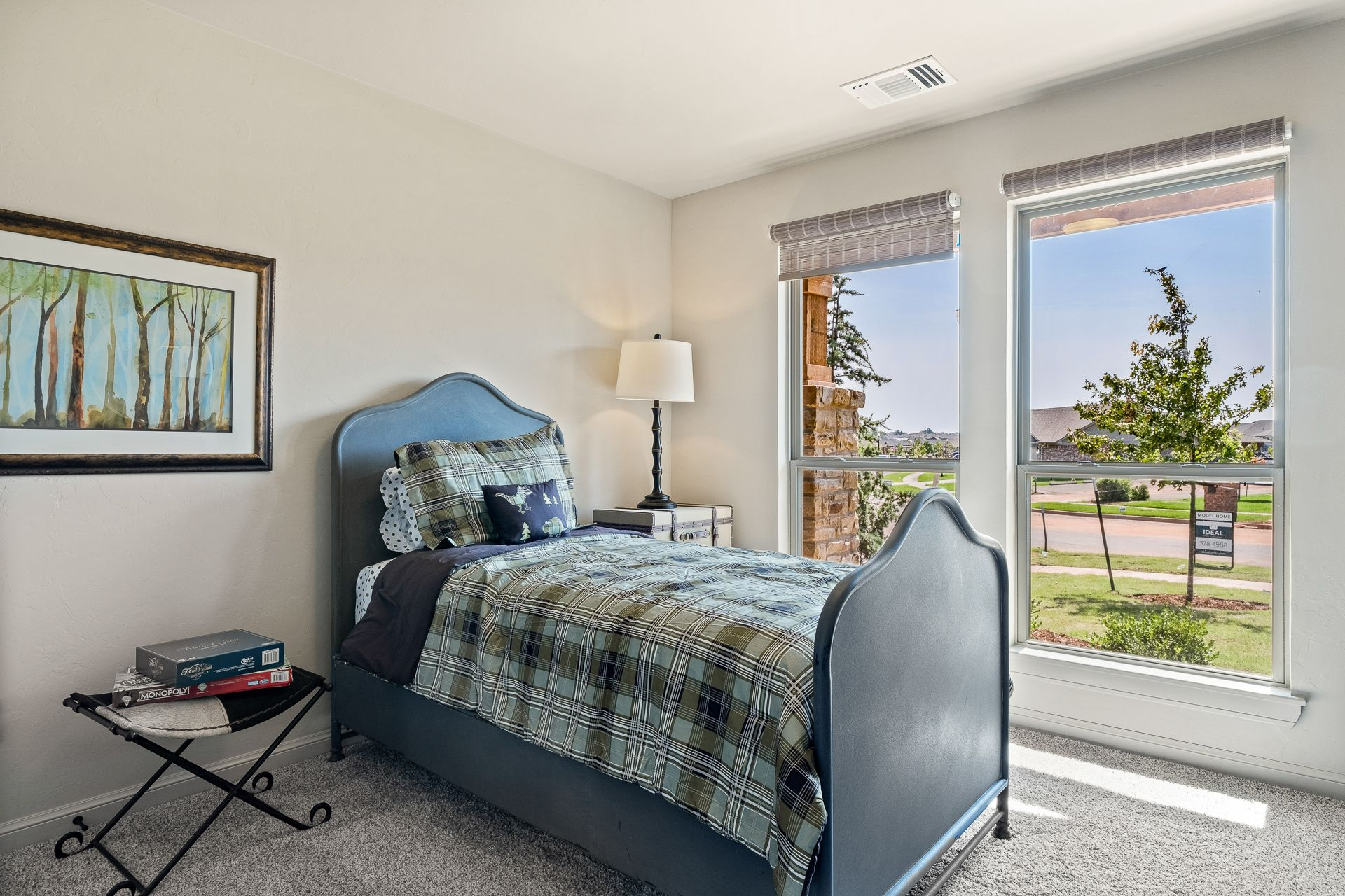 Bedroom featured in the Inwood By Ideal Homes in Oklahoma City, OK
