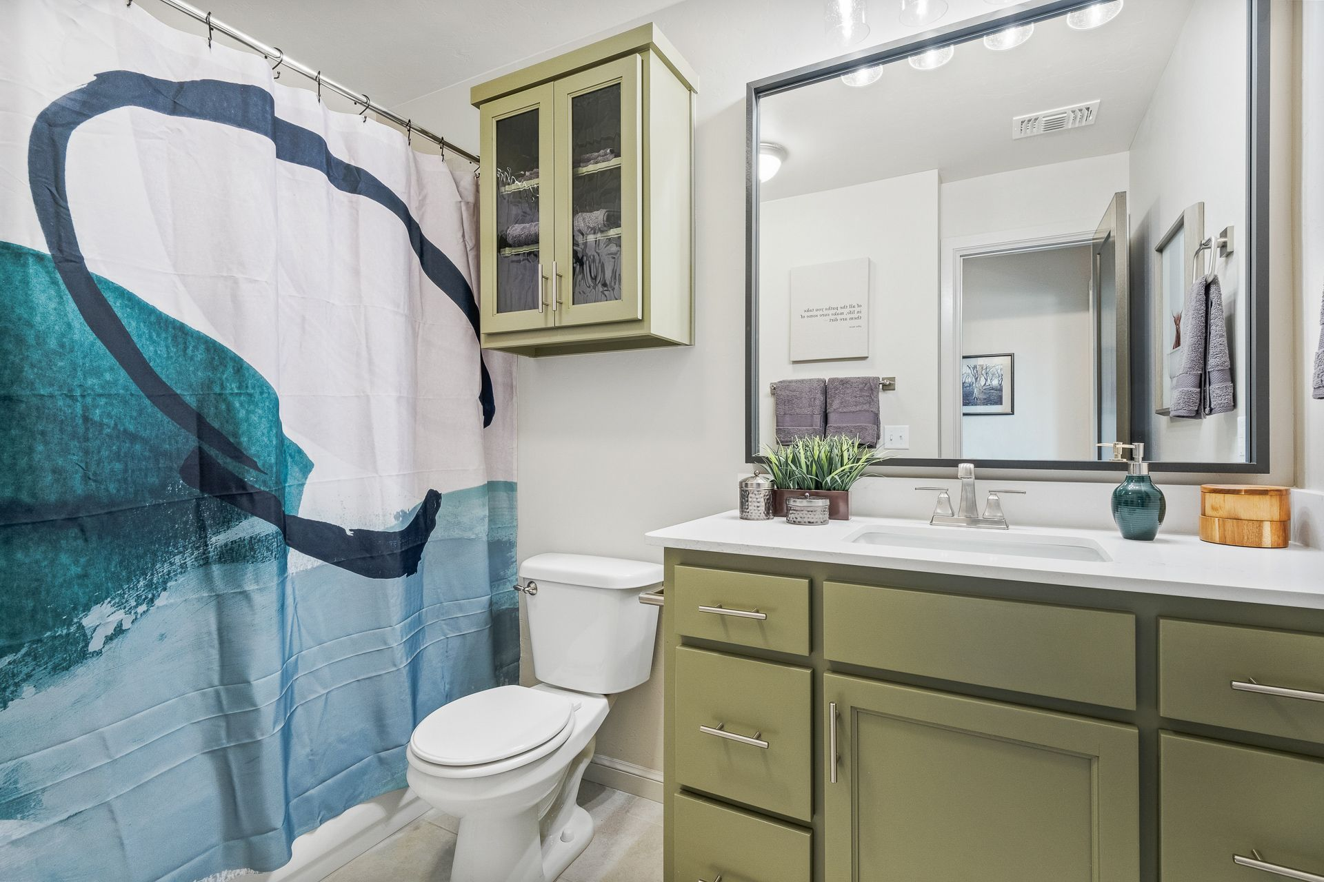Bathroom featured in the Inwood By Ideal Homes in Oklahoma City, OK