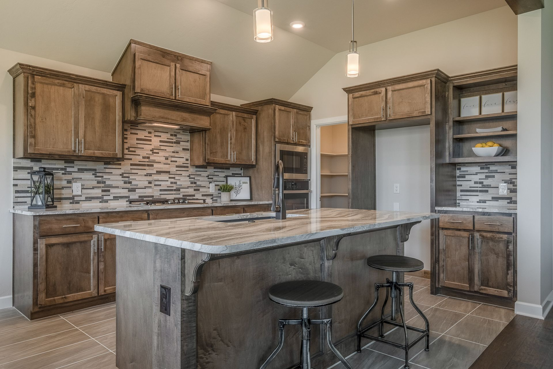 Kitchen featured in the Isabella By Ideal Homes in Oklahoma City, OK