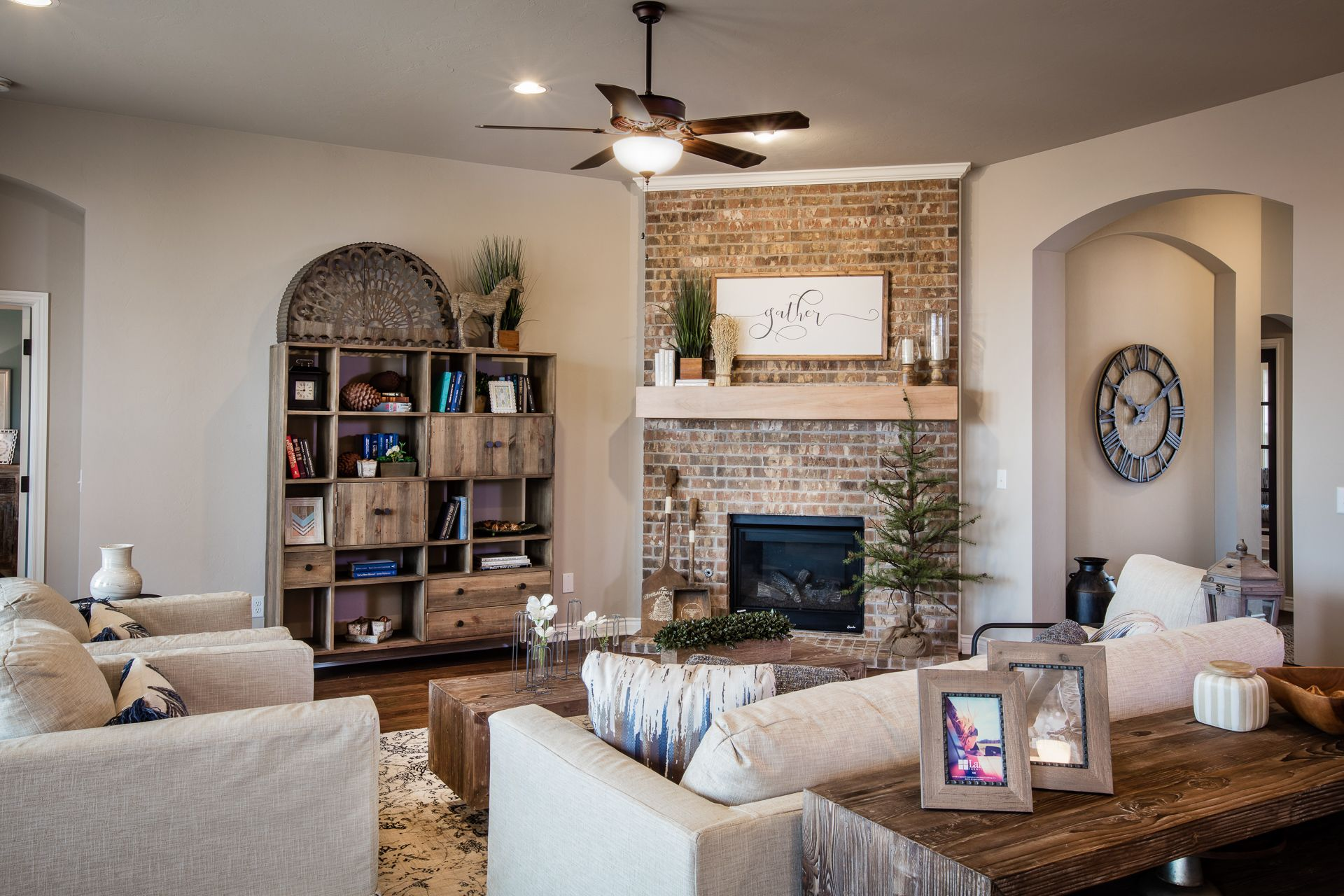 Living Area featured in the Langley By Ideal Homes in Oklahoma City, OK