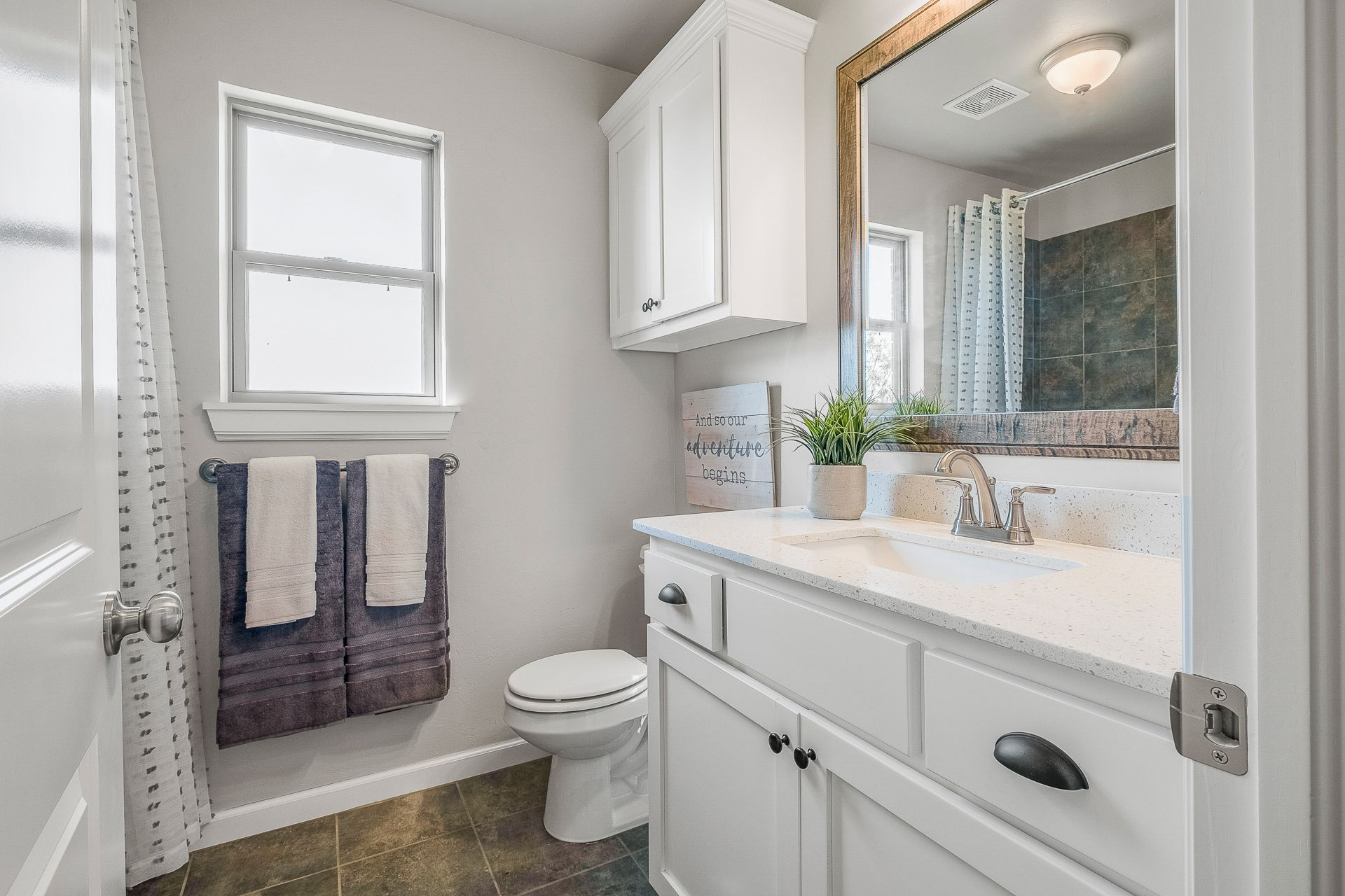 Bathroom featured in the Kincaid By Ideal Homes in Oklahoma City, OK