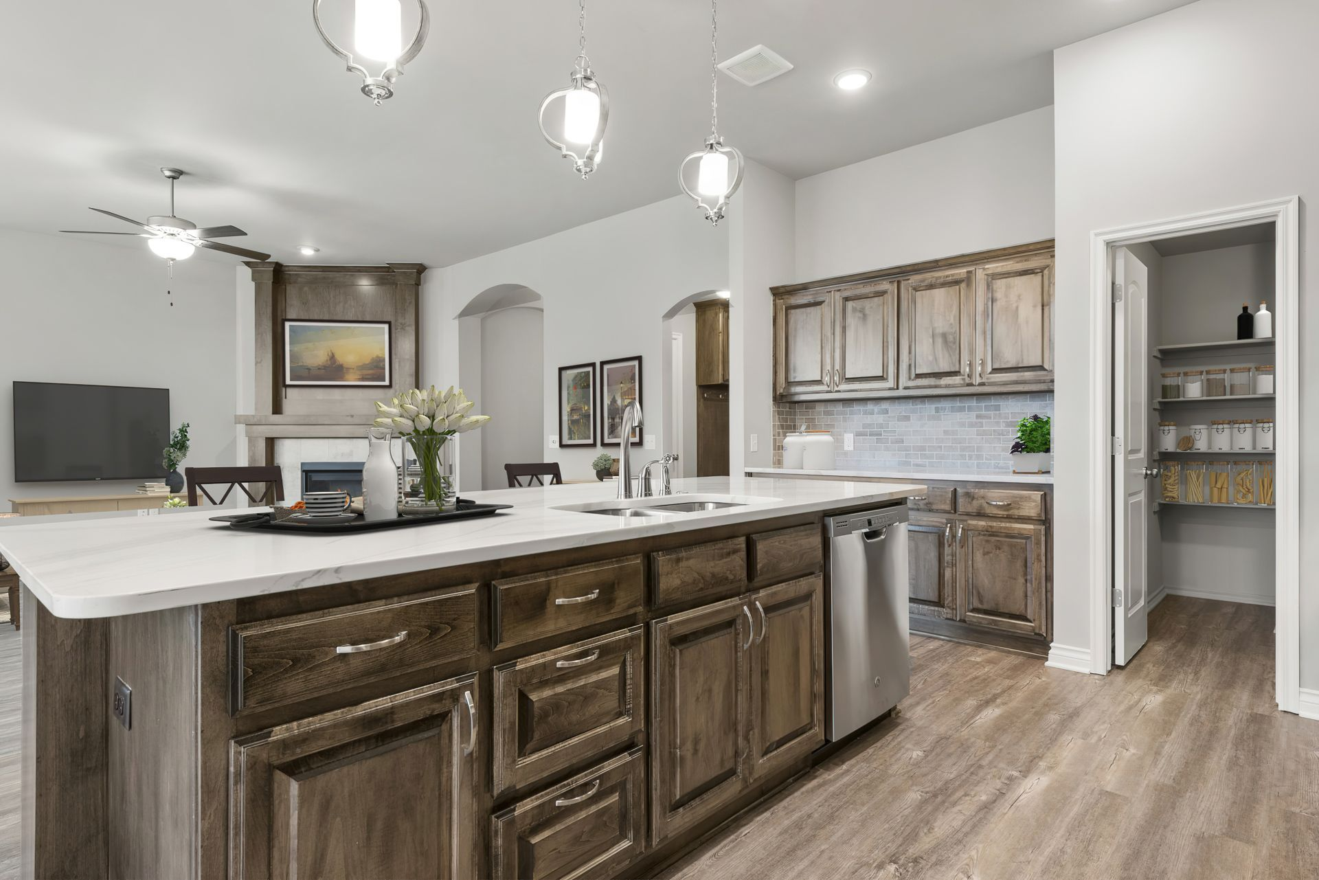 Kitchen featured in the Langley 3-Car By Ideal Homes in Oklahoma City, OK