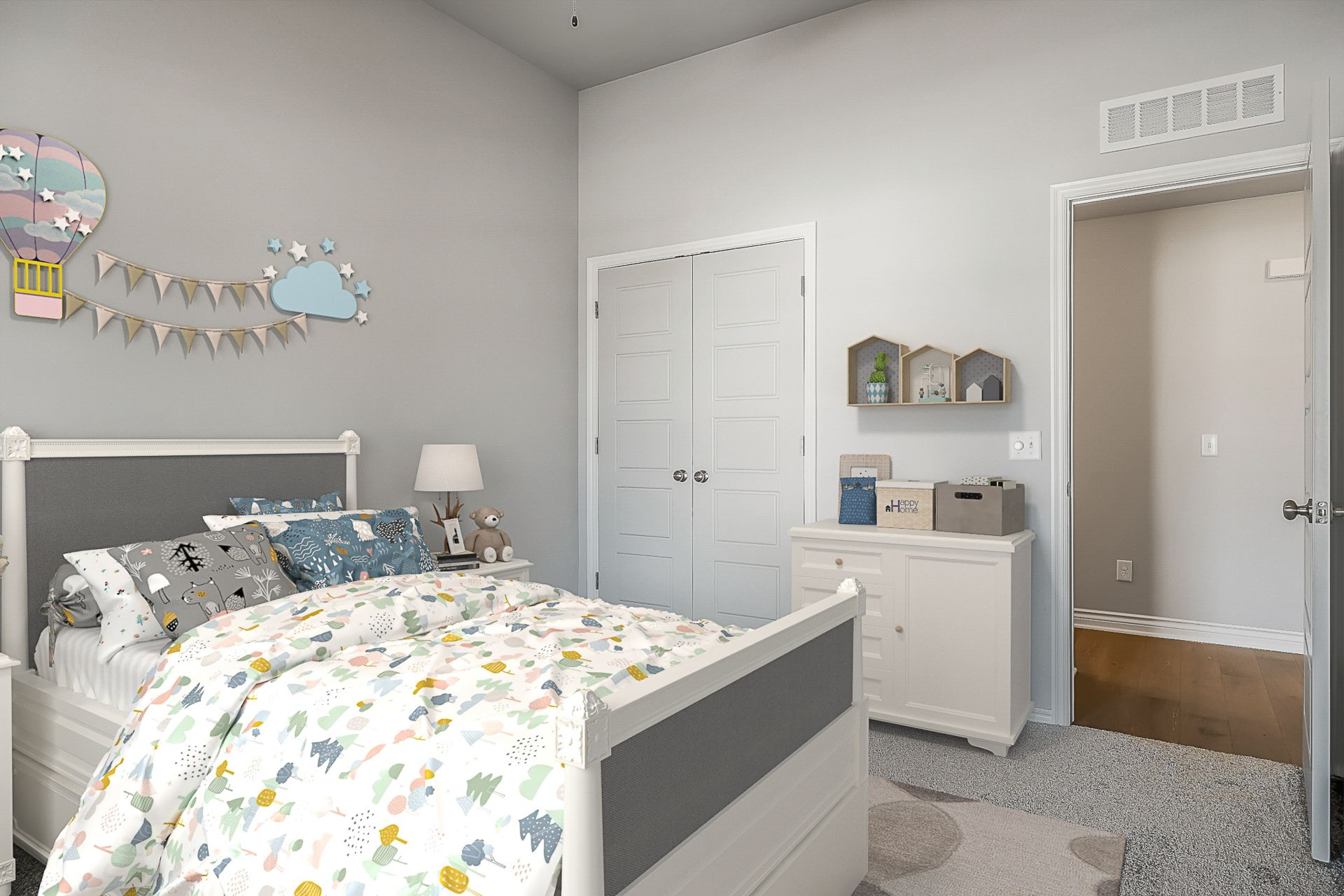 Bedroom featured in the Pendleton By Ideal Homes in Oklahoma City, OK