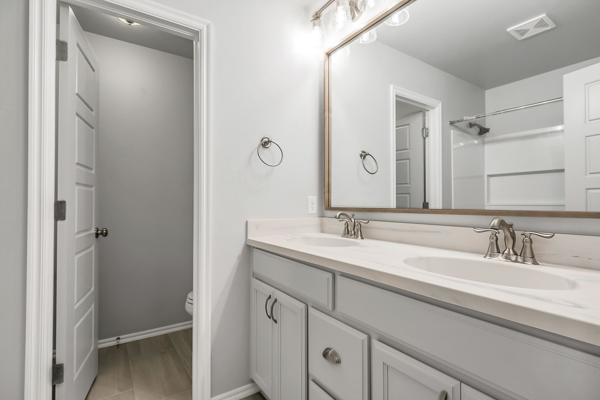 Bathroom featured in the Pendleton By Ideal Homes in Oklahoma City, OK