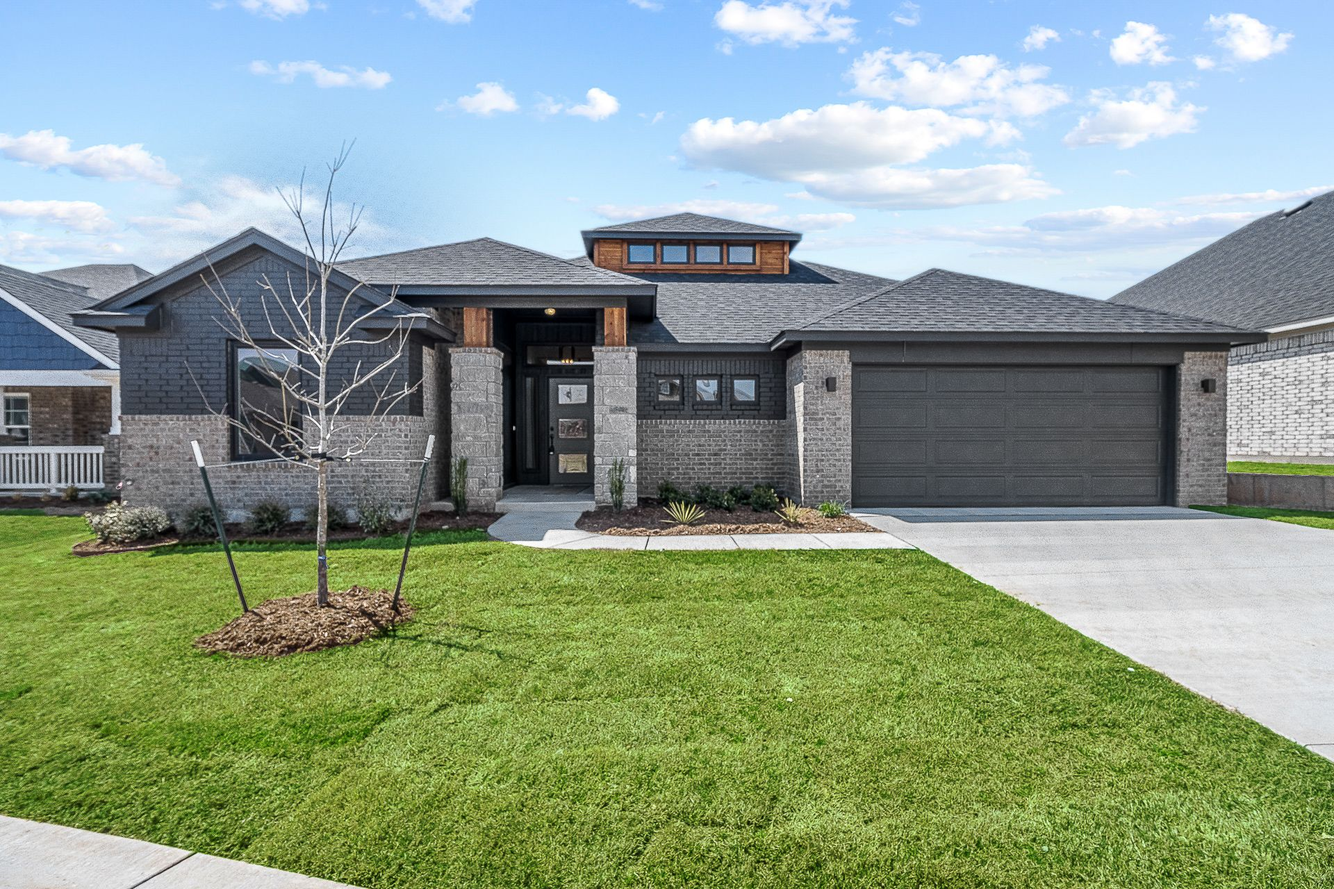 Exterior featured in the Montgomery By Ideal Homes in Oklahoma City, OK