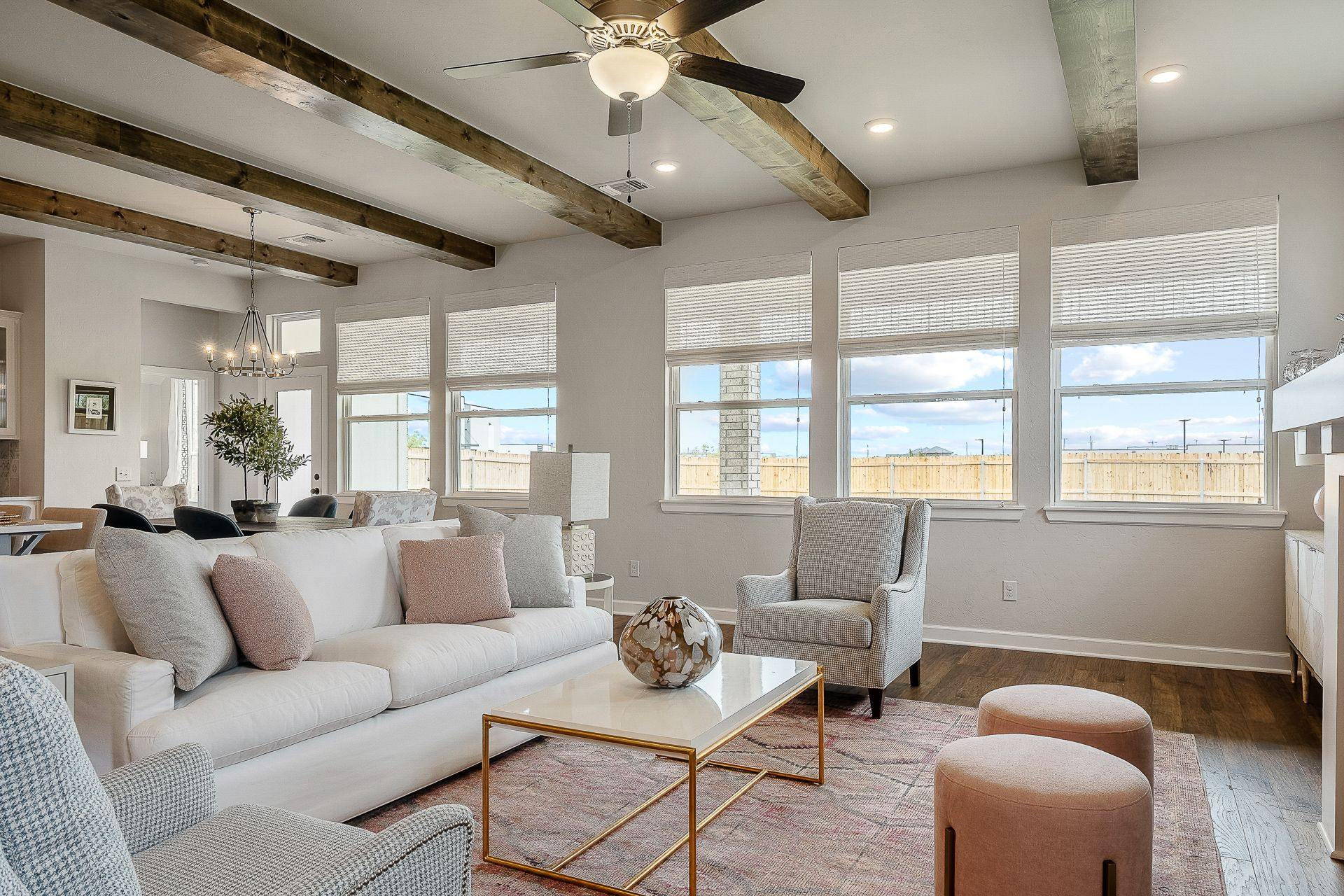Living Area featured in the Nottingham By Ideal Homes in Oklahoma City, OK