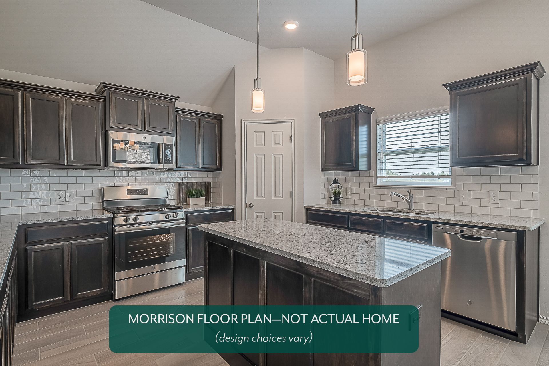 Kitchen featured in the Morrison By Ideal Homes in Oklahoma City, OK