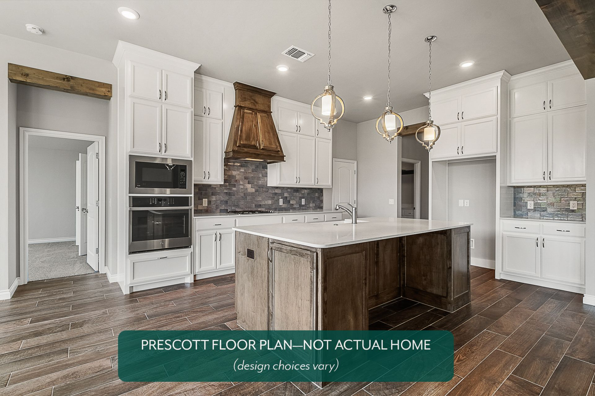 Kitchen featured in the Prescott By Ideal Homes in Oklahoma City, OK